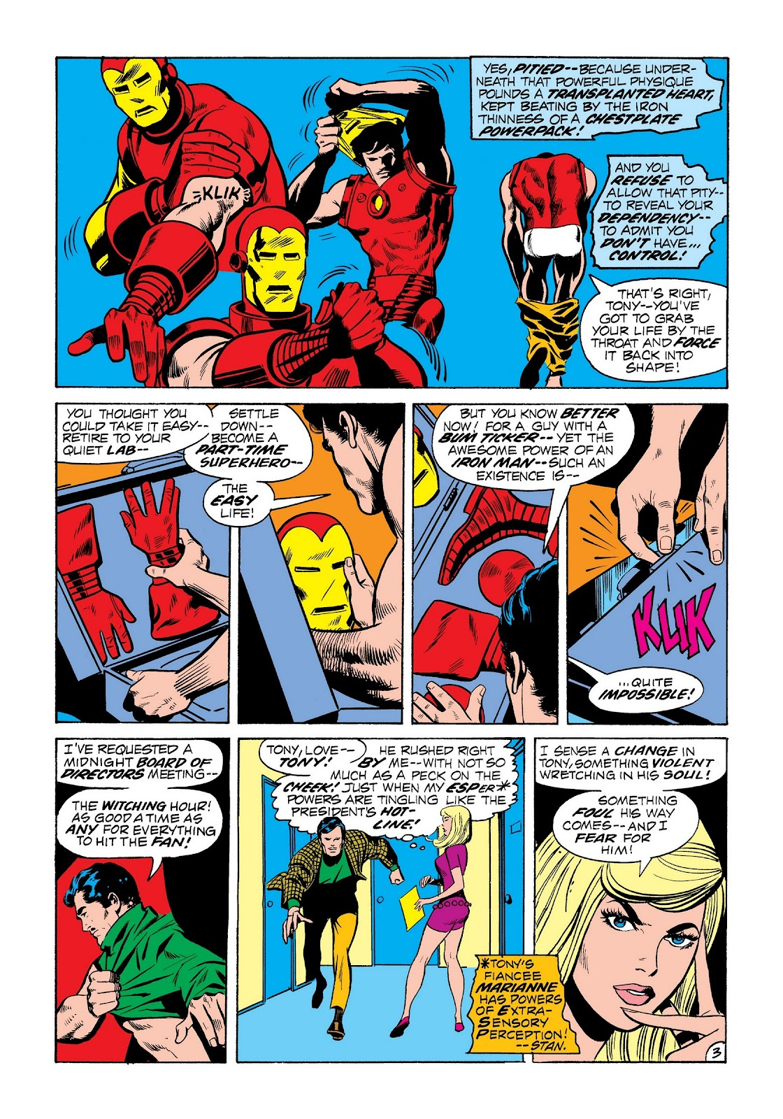 Read online Marvel Masterworks: The Invincible Iron Man comic -  Issue # TPB 8 (Part 2) - 91