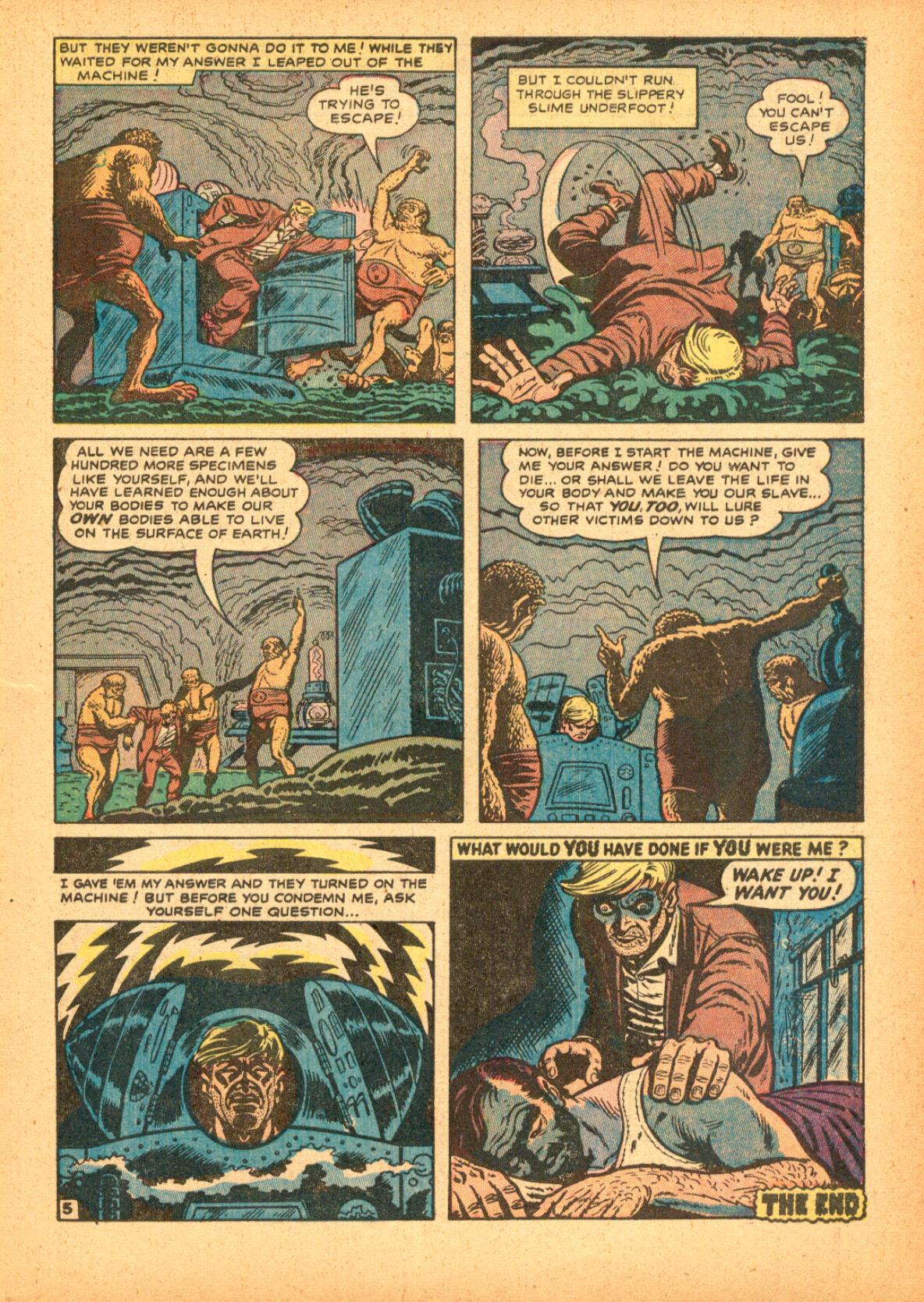 Read online Adventures into Weird Worlds comic -  Issue #3 - 7