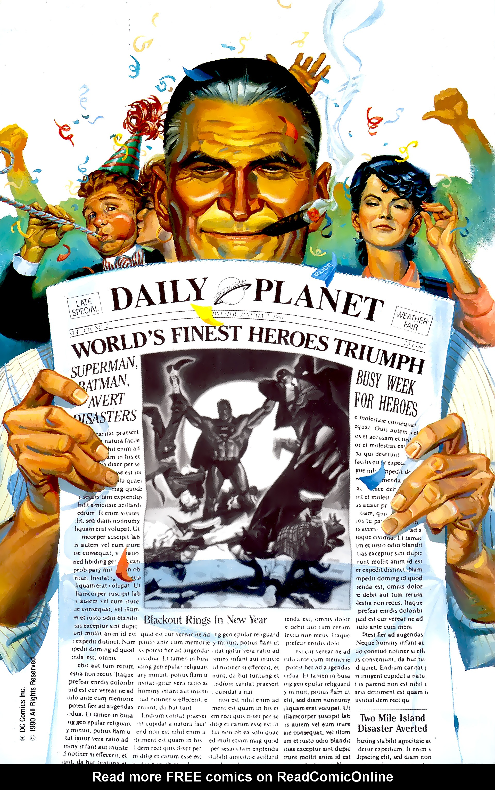 Read online World's Finest (1990) comic -  Issue #3 - 2