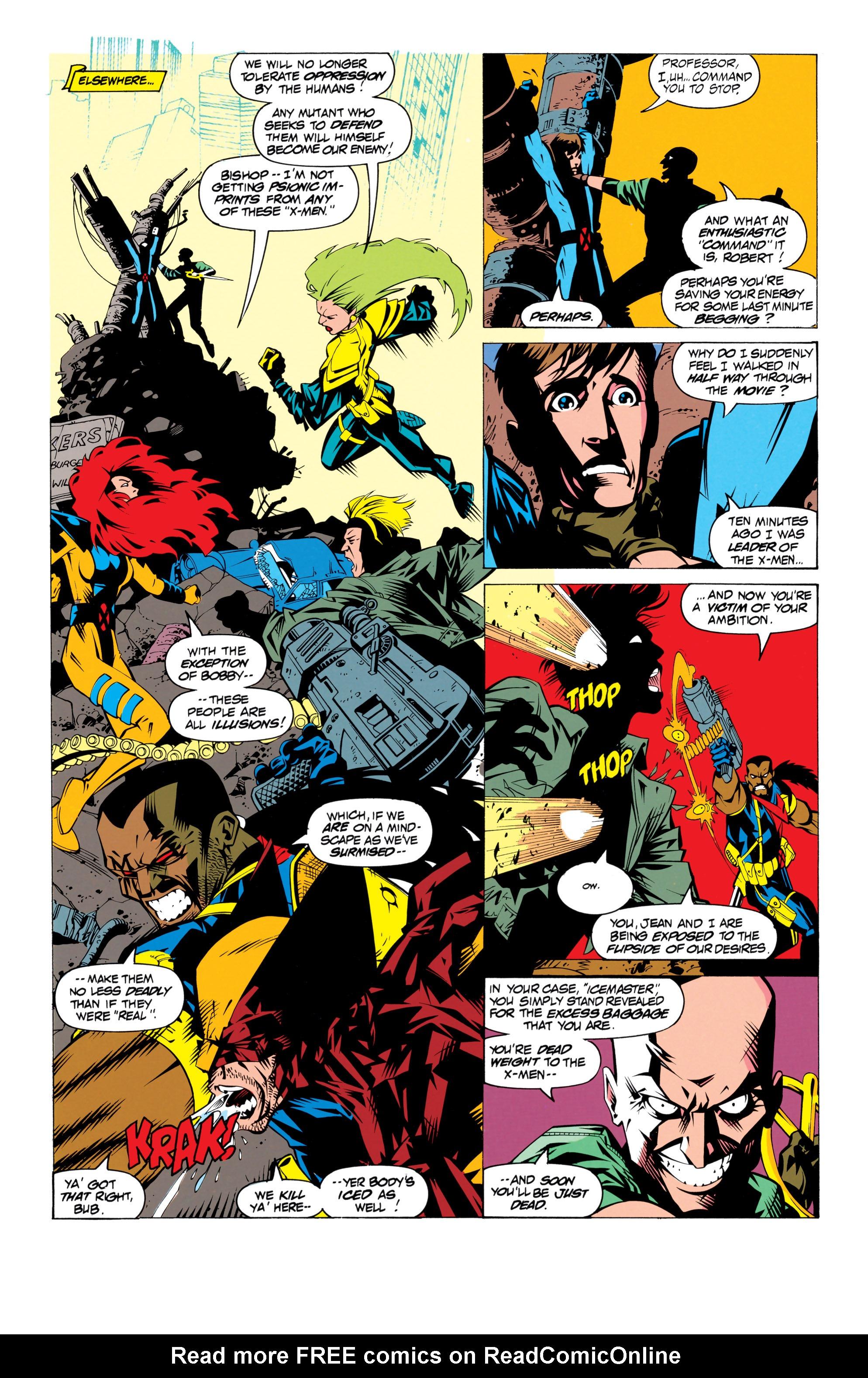 Read online Uncanny X-Men (1963) comic -  Issue # _Annual 17 - 31