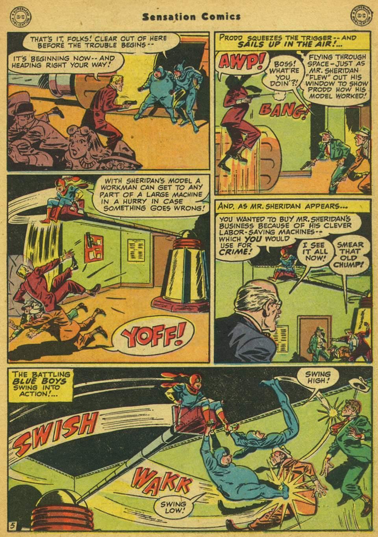 Read online Sensation (Mystery) Comics comic -  Issue #80 - 20