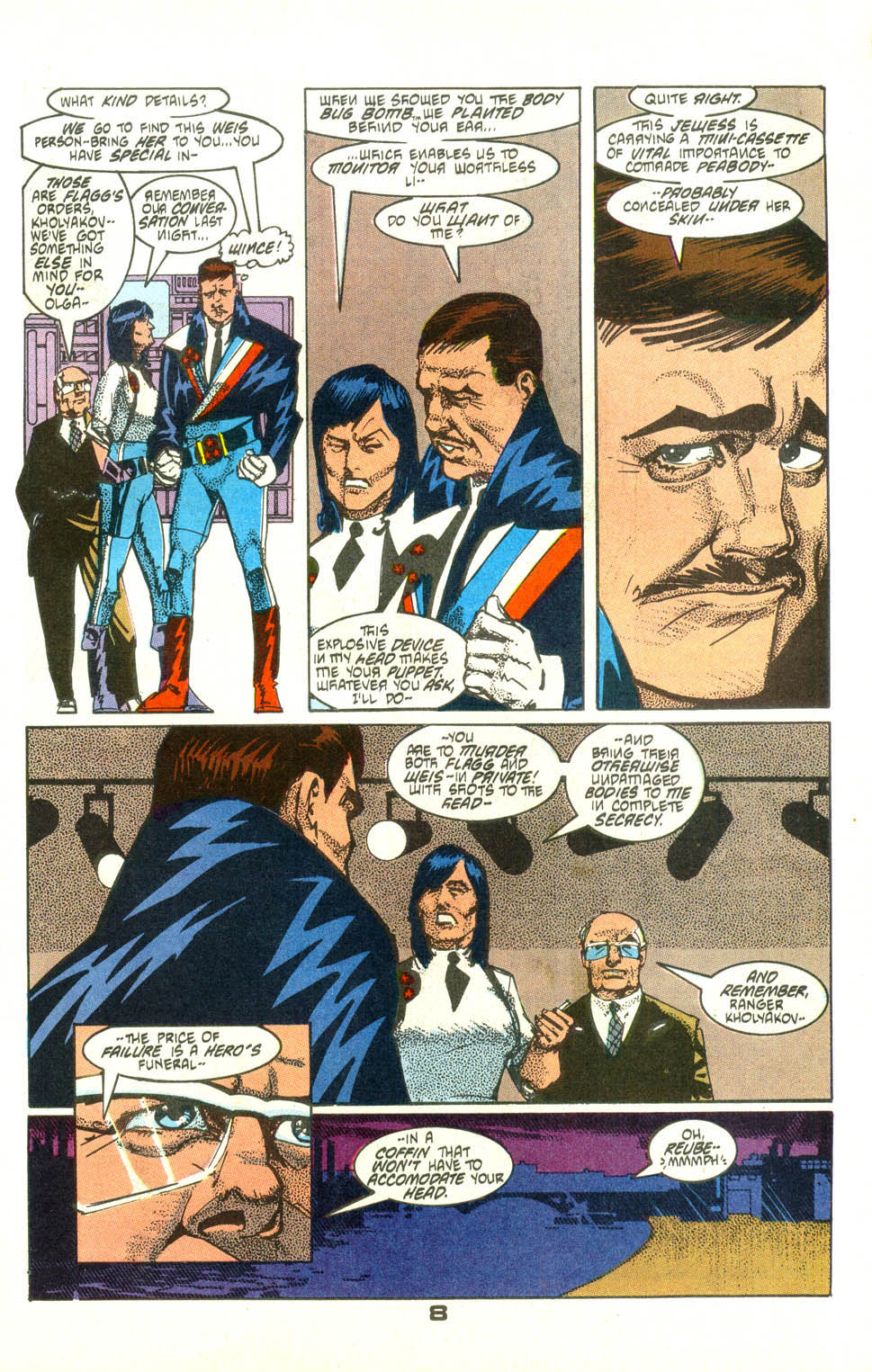 Read online American Flagg! comic -  Issue #25 - 10