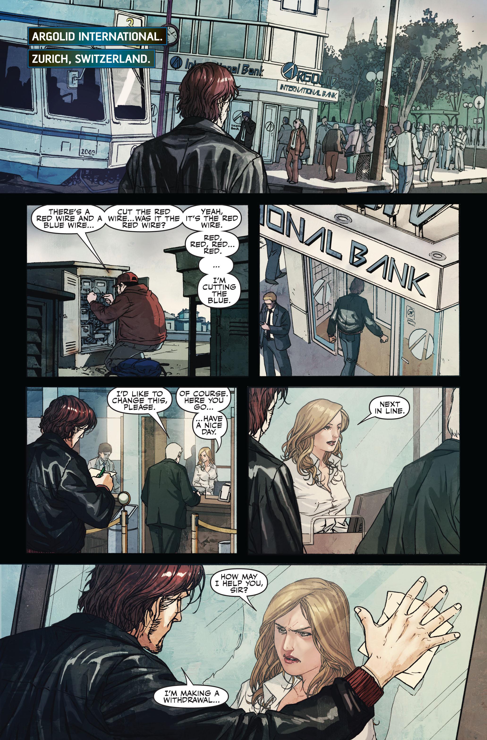 Read online Secret Warriors comic -  Issue #7 - 4
