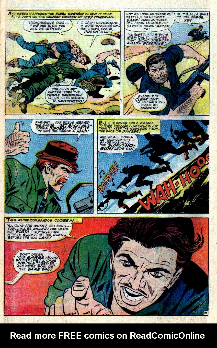 Read online Sgt. Fury comic -  Issue #43 - 26