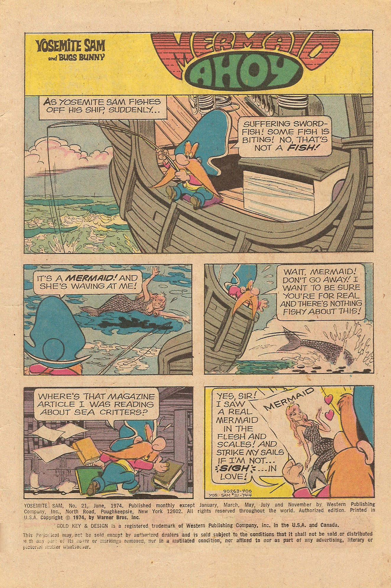 Yosemite Sam and Bugs Bunny issue 21 - Page 3