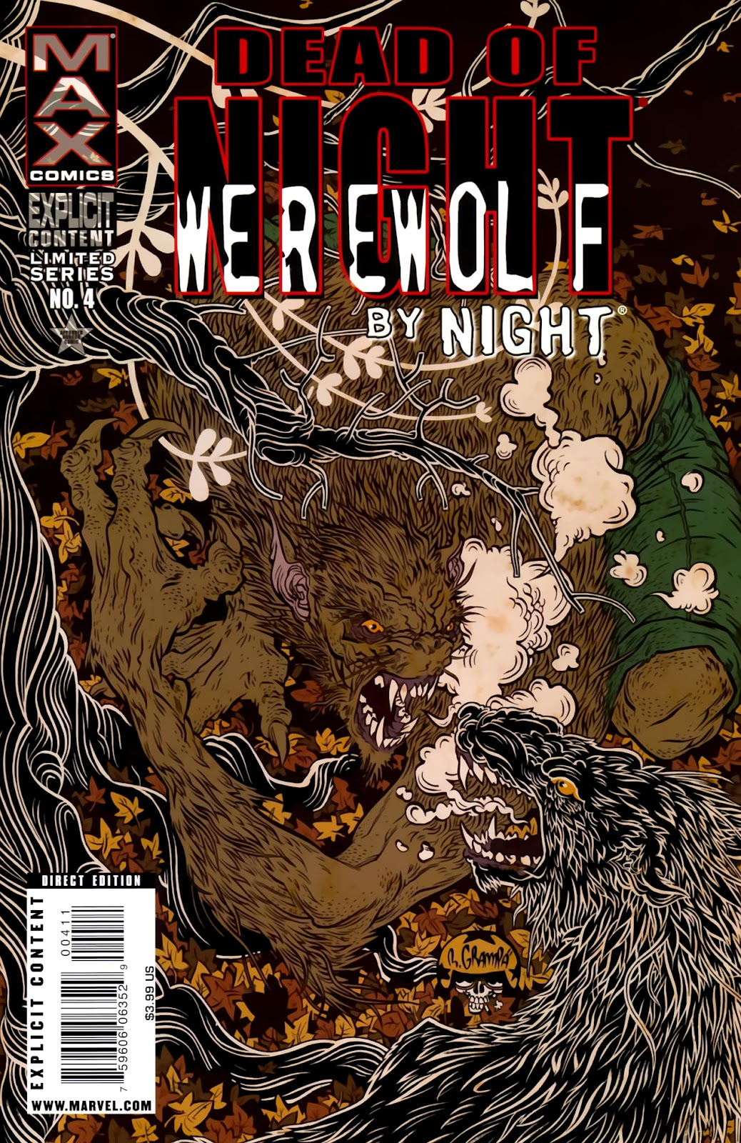 Dead of Night Featuring Werewolf by Night issue 4 - Page 1