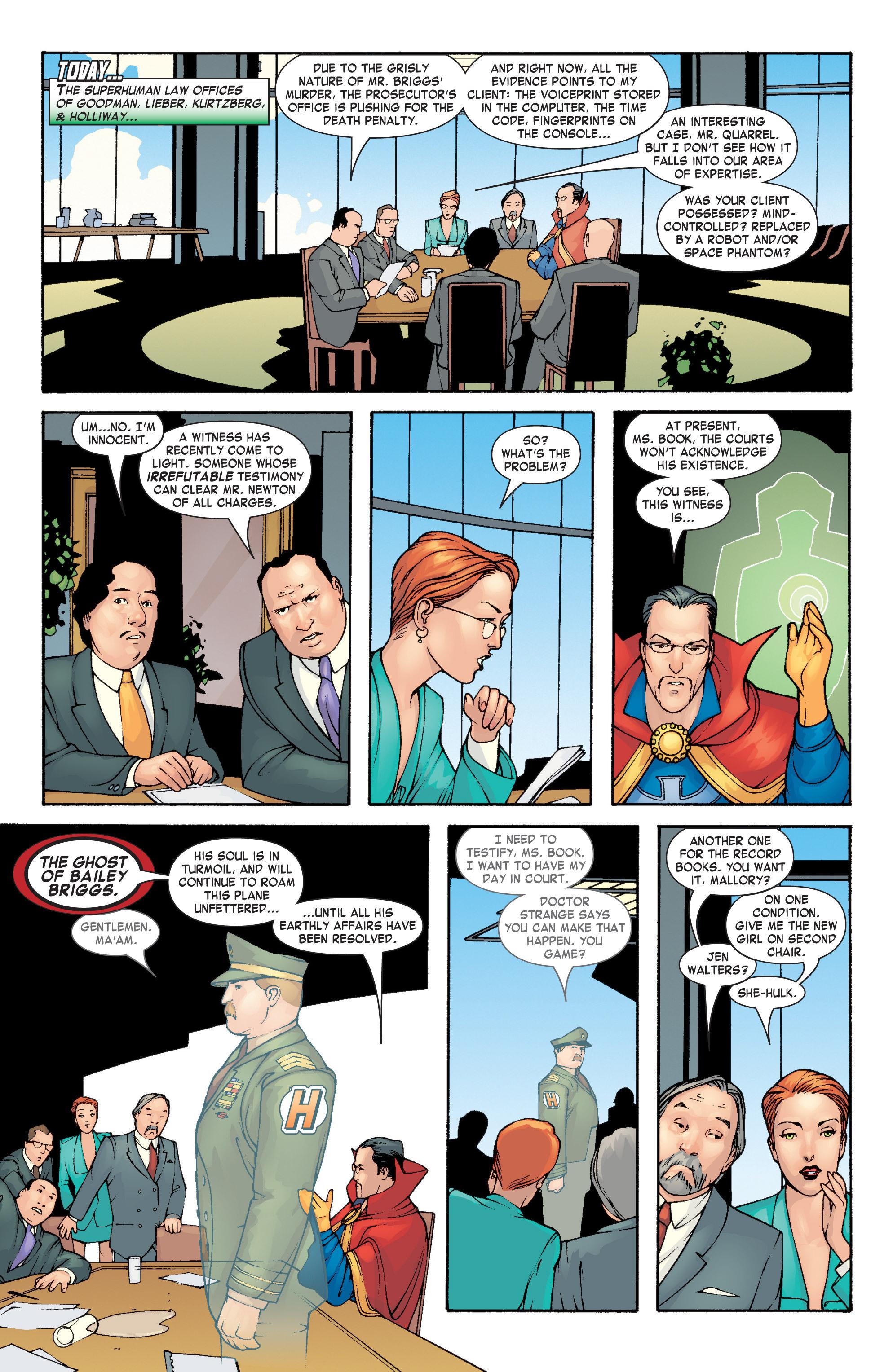 Read online She-Hulk (2004) comic -  Issue #3 - 4