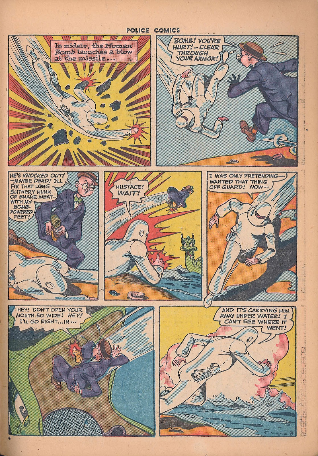 Police Comics issue 44 - Page 39