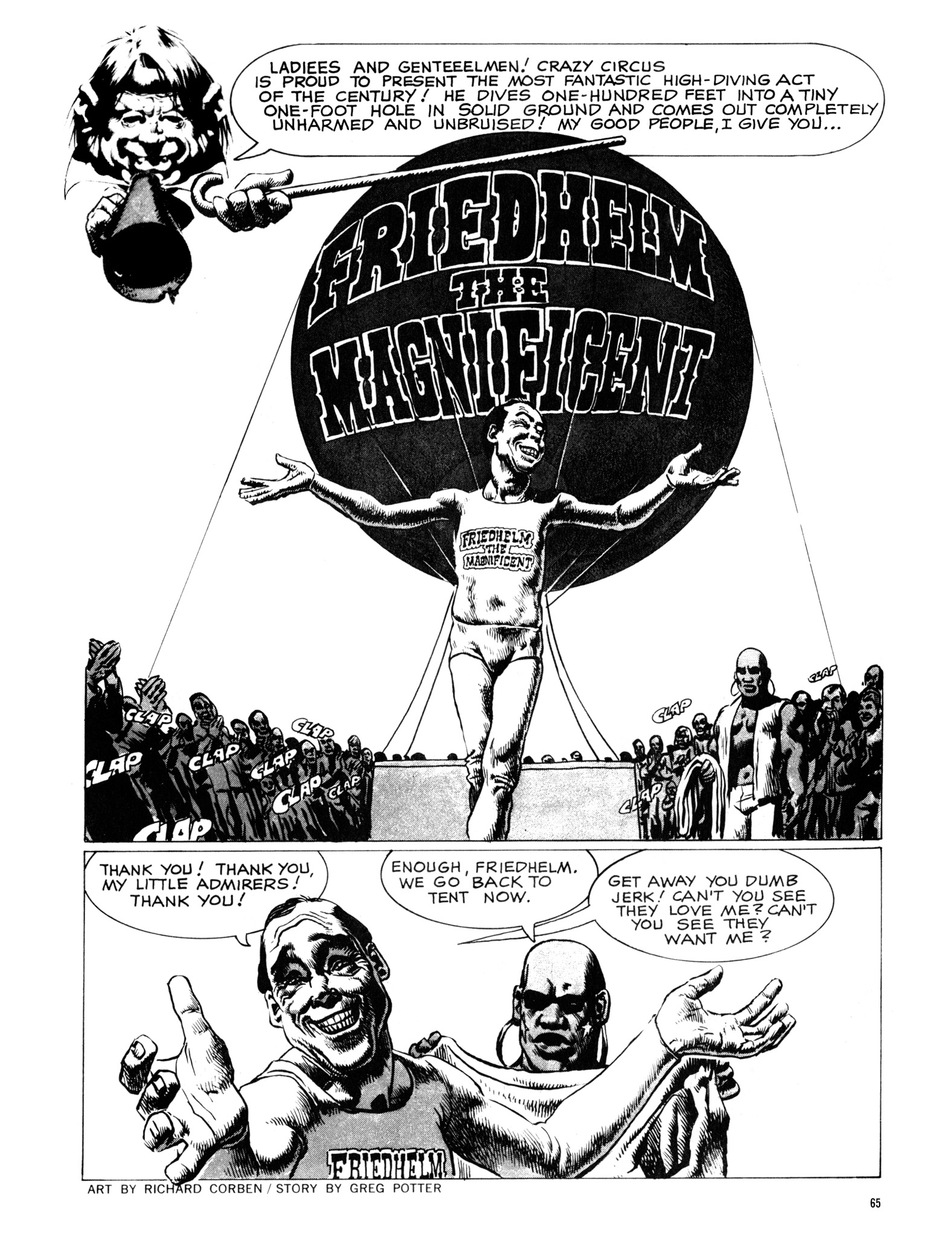 Read online Eerie Archives comic -  Issue # TPB 18 - 66