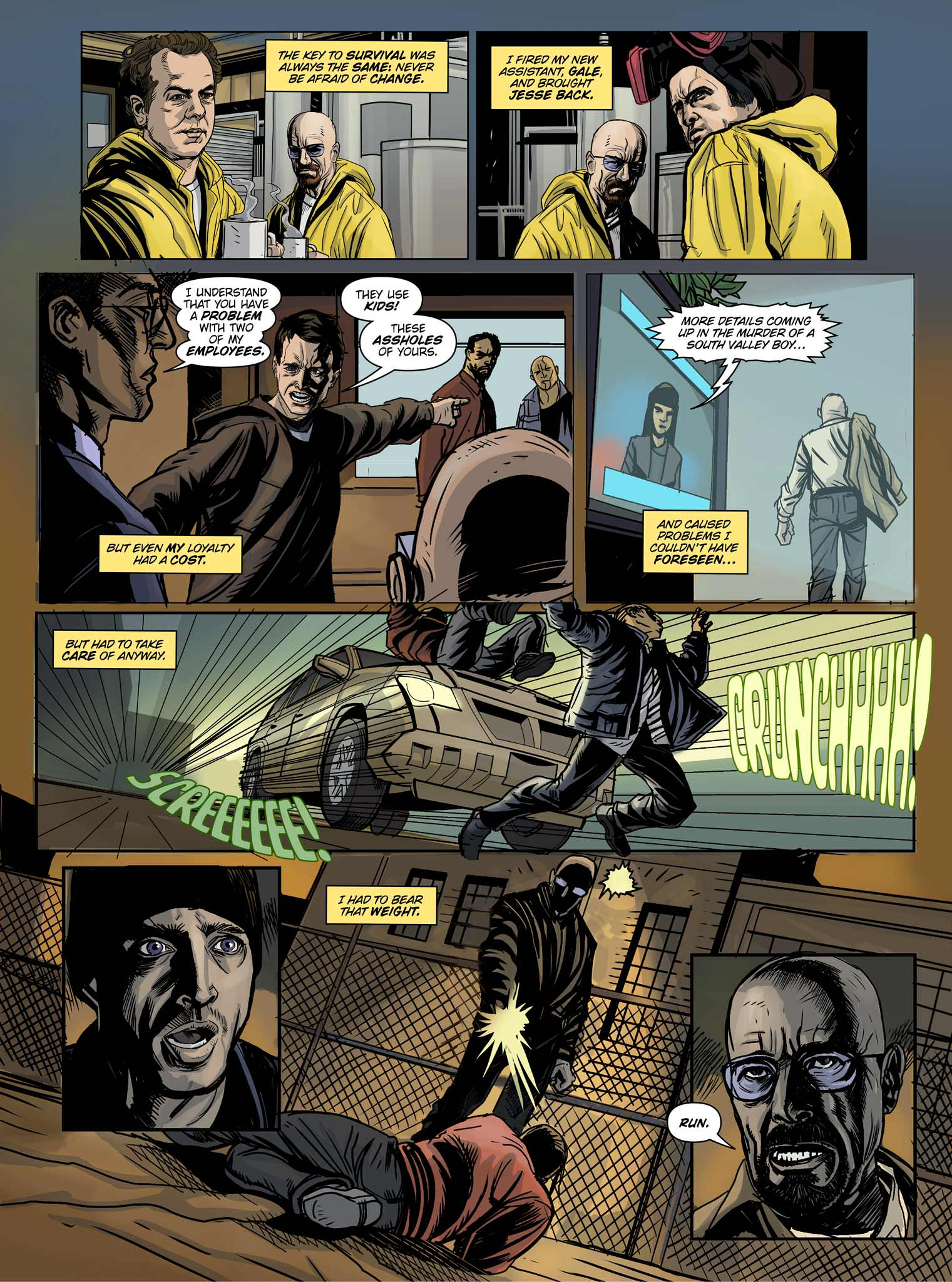 Read online Breaking Bad: All Bad Things comic -  Issue # Full - 12