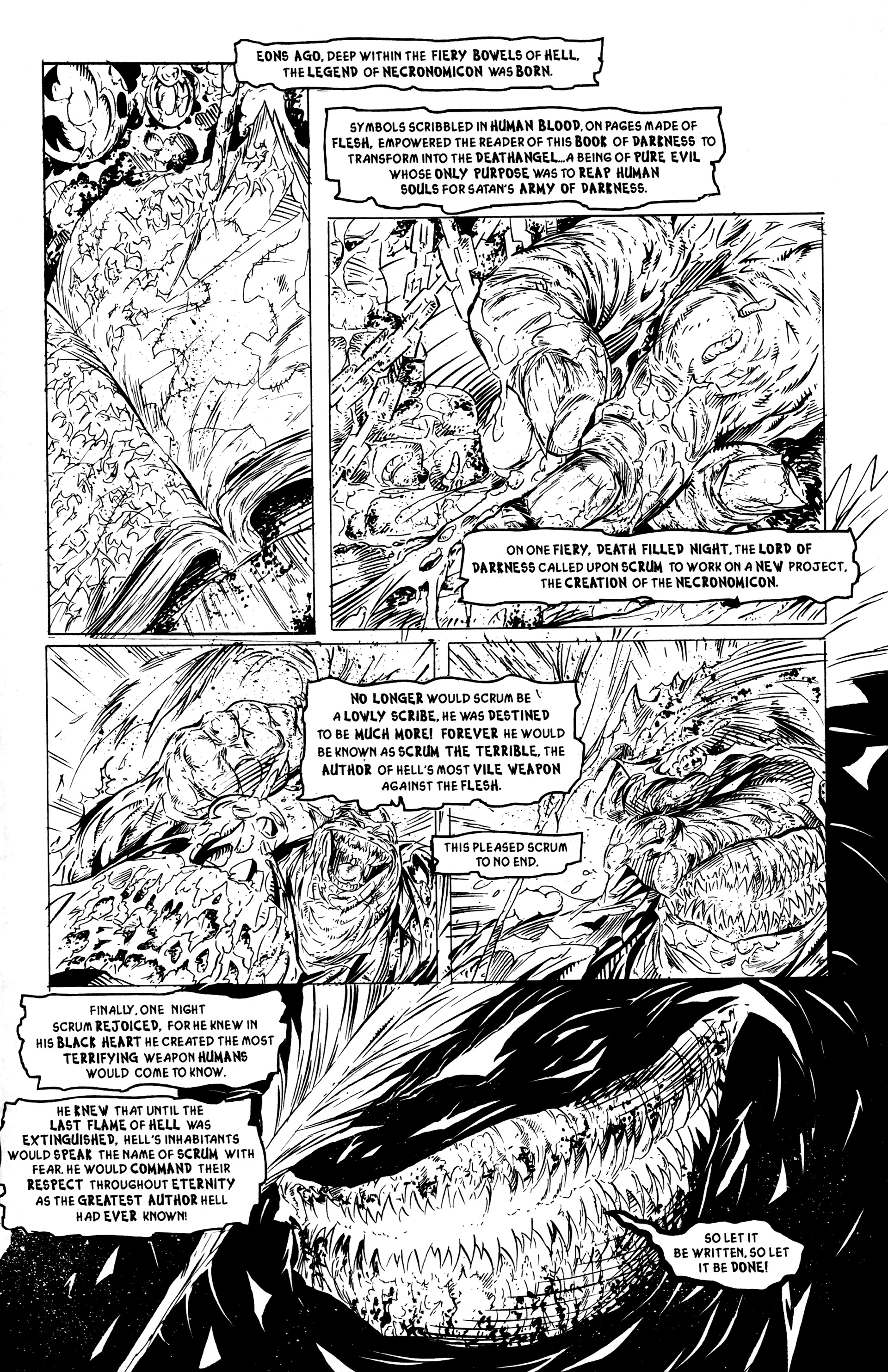 Read online DeathAngel comic -  Issue # Full - 3
