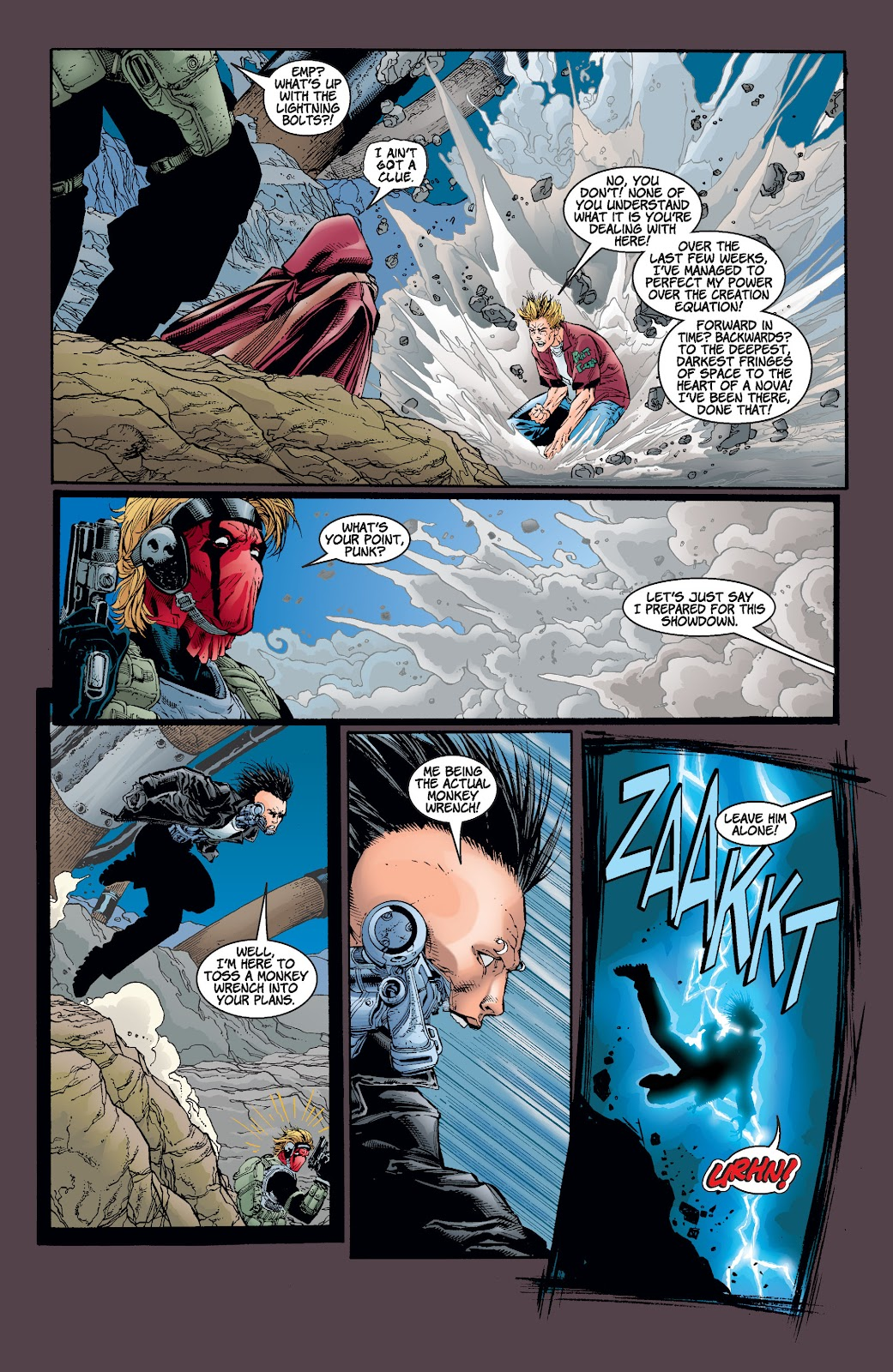 Read online Divine Right comic -  Issue # _TPB The Adventures of Max Faraday (Part 4) - 1