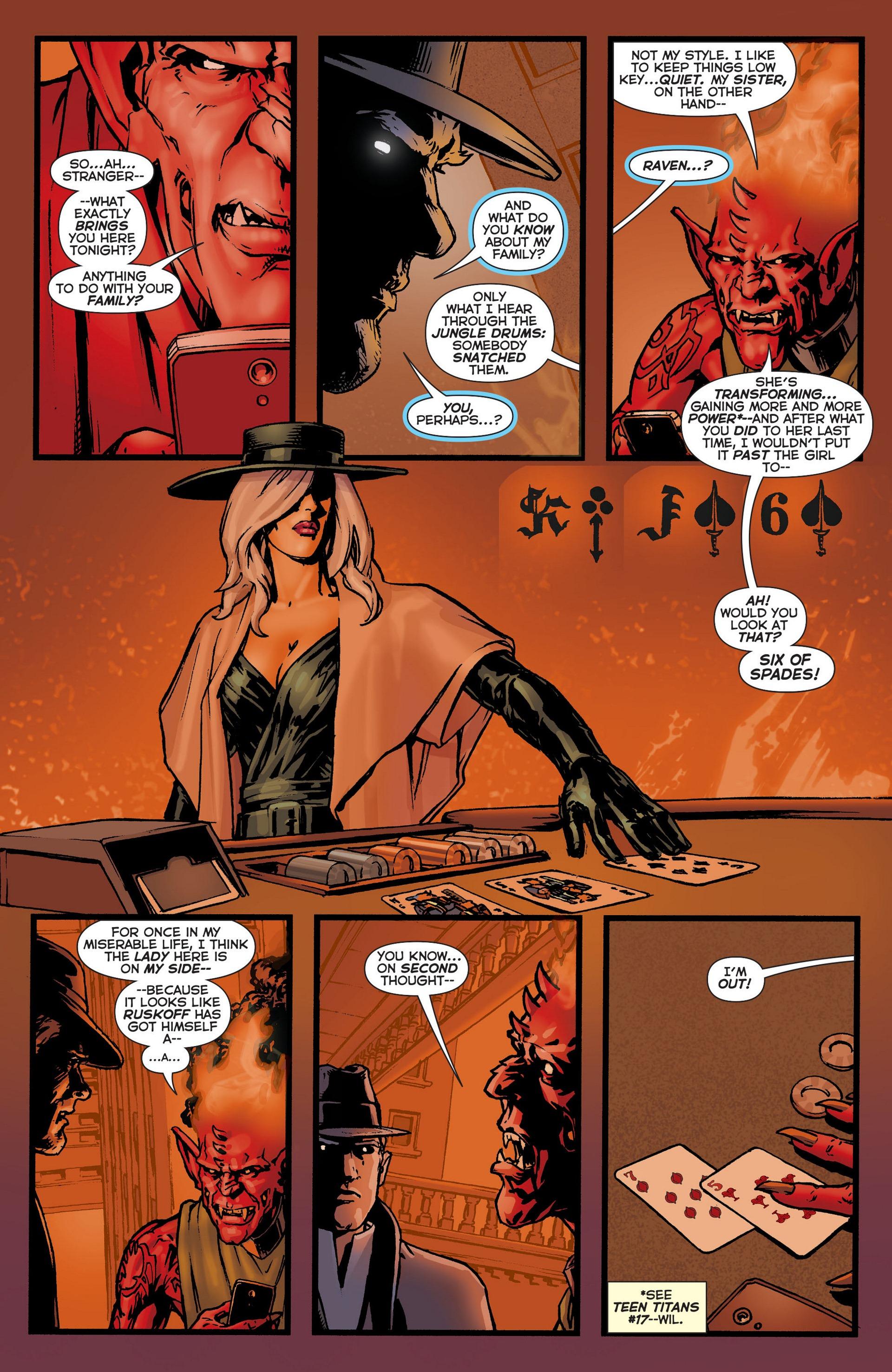 Read online Trinity of Sin: The Phantom Stranger comic -  Issue #6 - 13