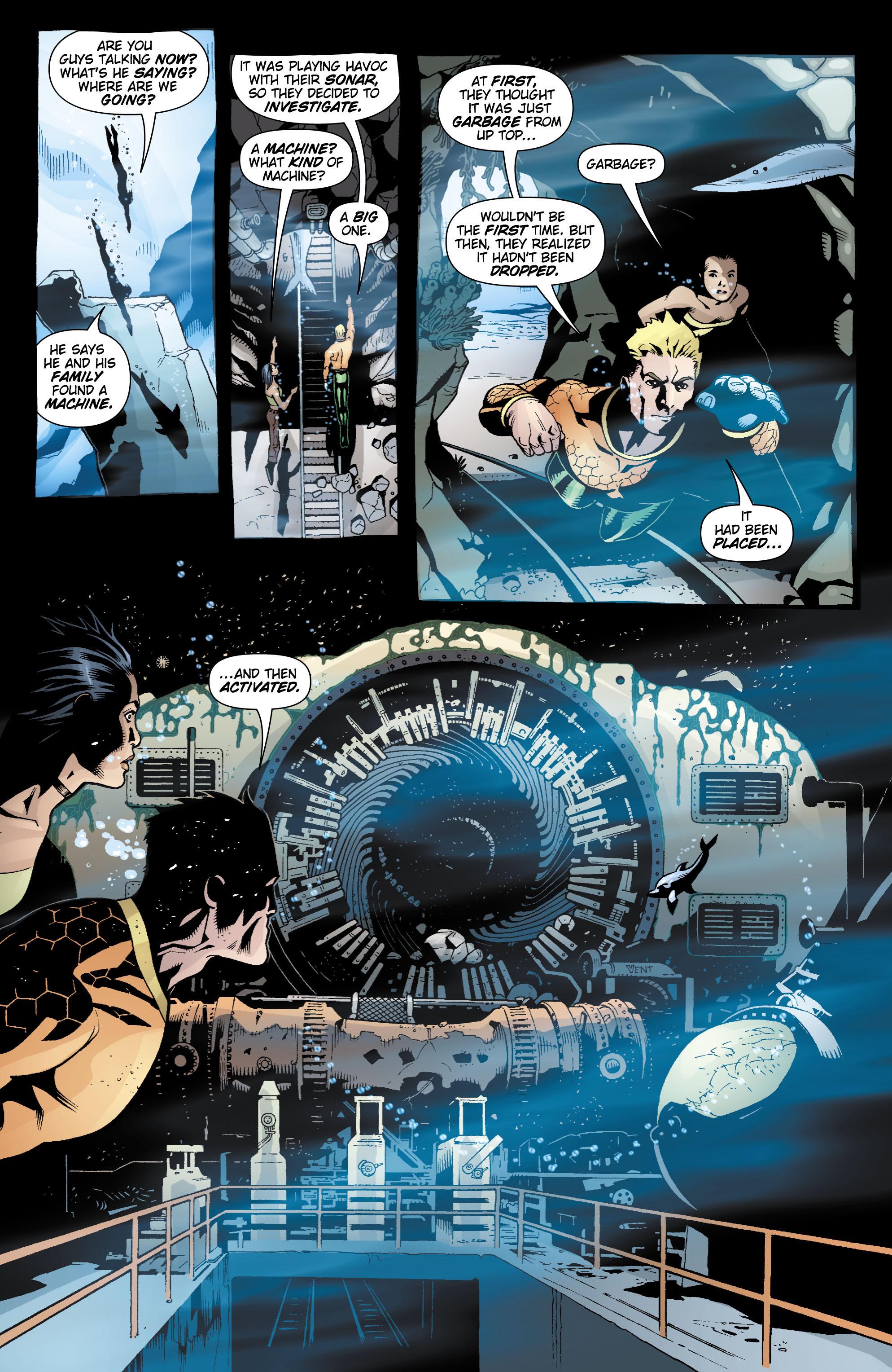 Read online Aquaman (2003) comic -  Issue #17 - 20