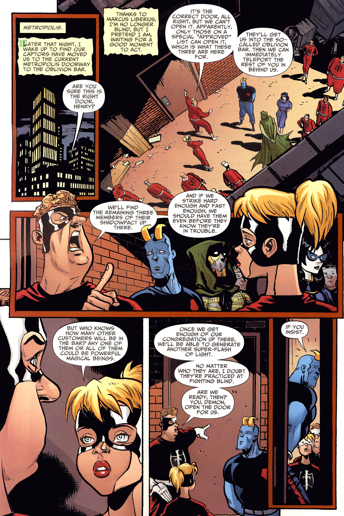 Read online Shadowpact comic -  Issue #8 - 18