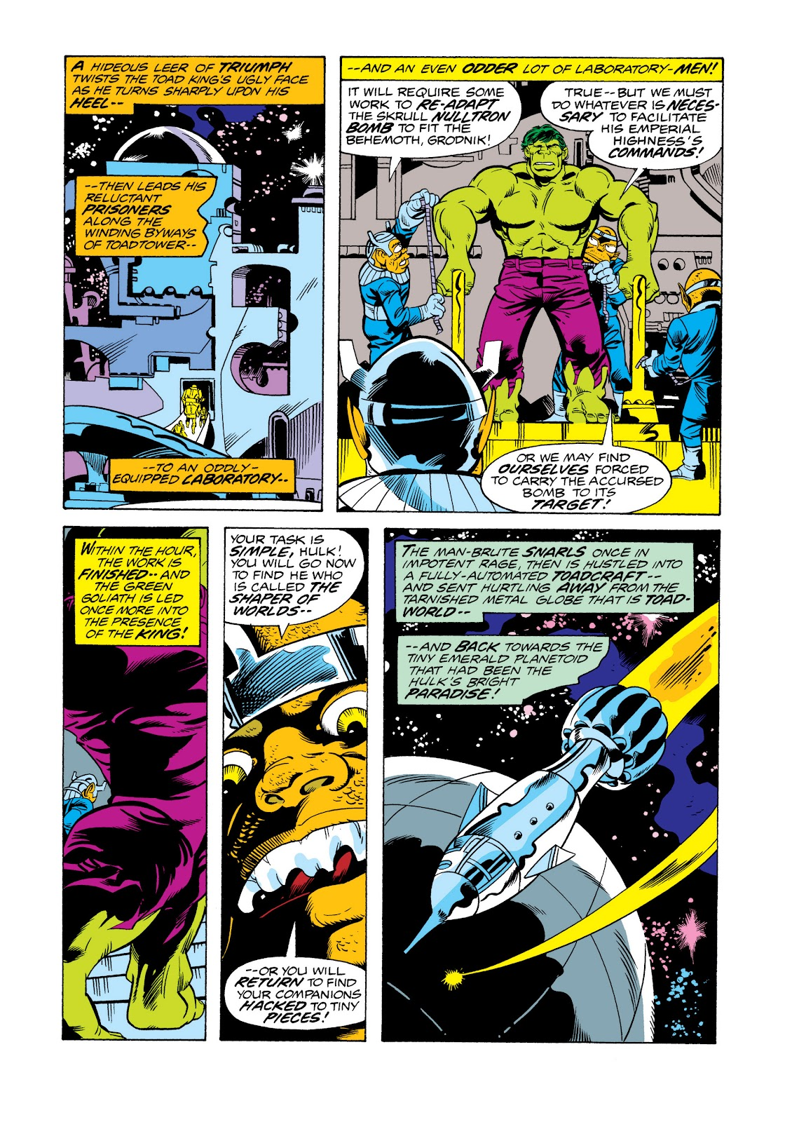 Read online Marvel Masterworks: The Incredible Hulk comic -  Issue # TPB 11 (Part 2) - 47