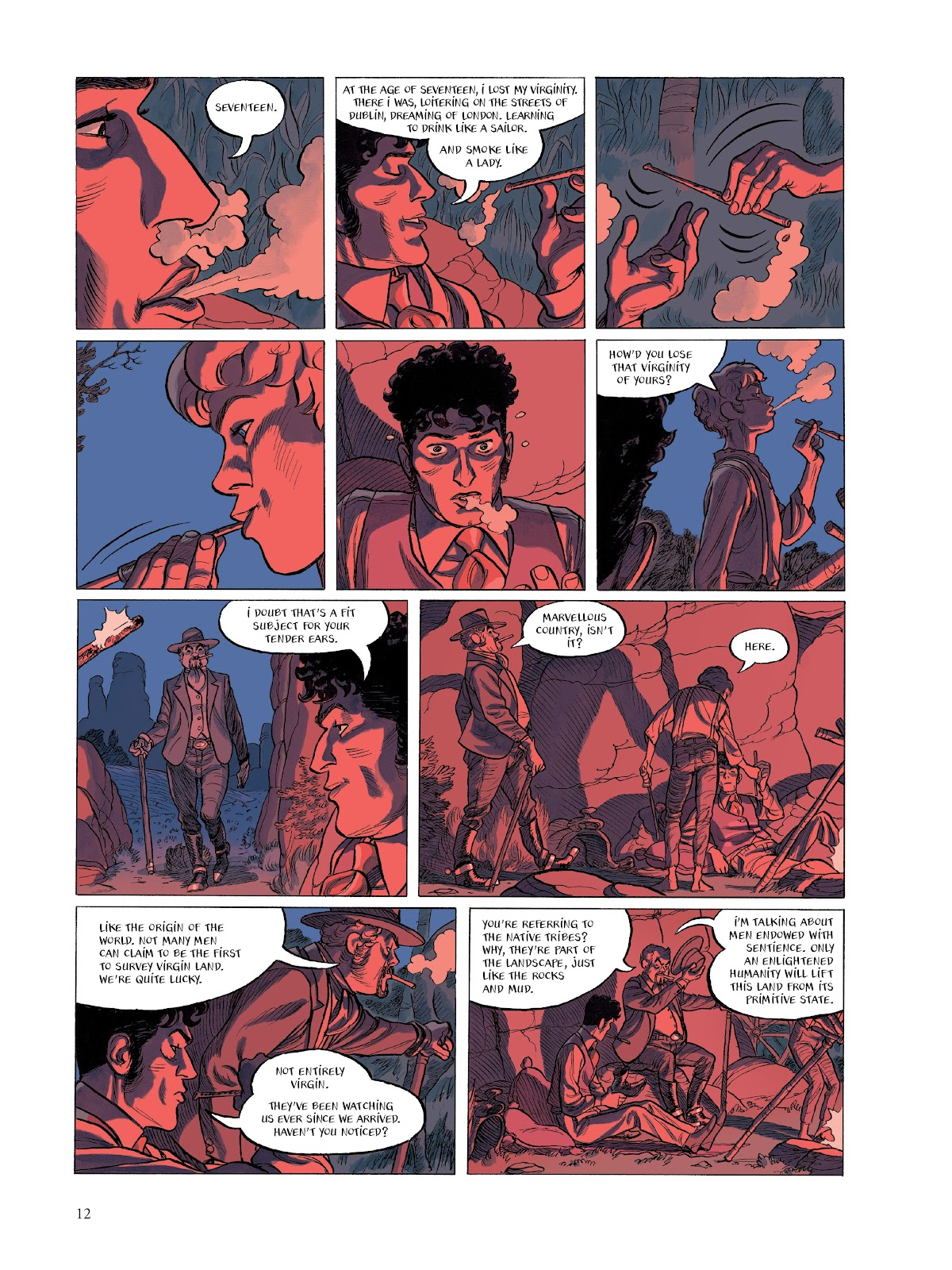 Read online The Smell of Starving Boys comic -  Issue # TPB - 13
