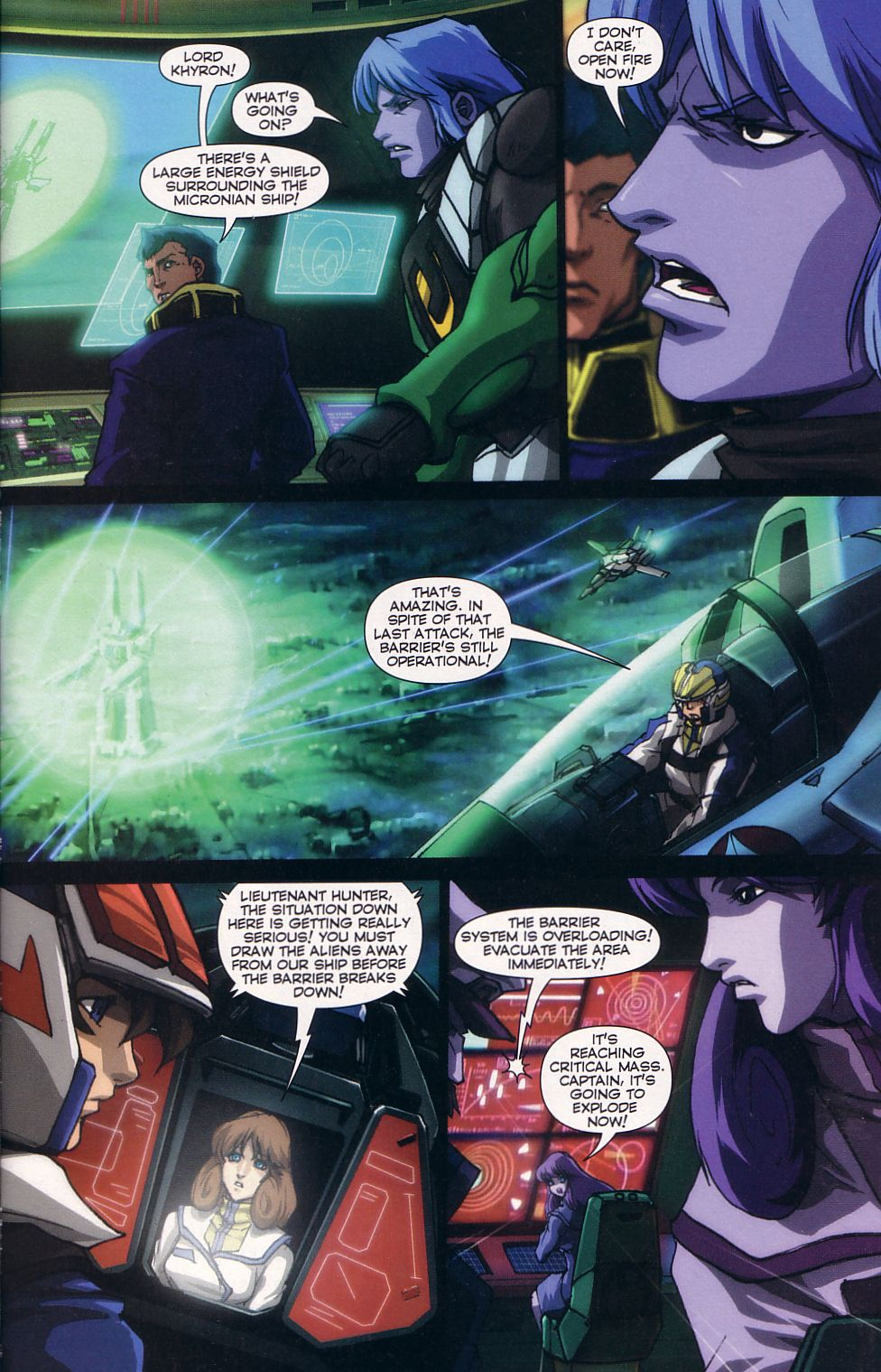 Read online Robotech: Love and War comic -  Issue #5 - 5