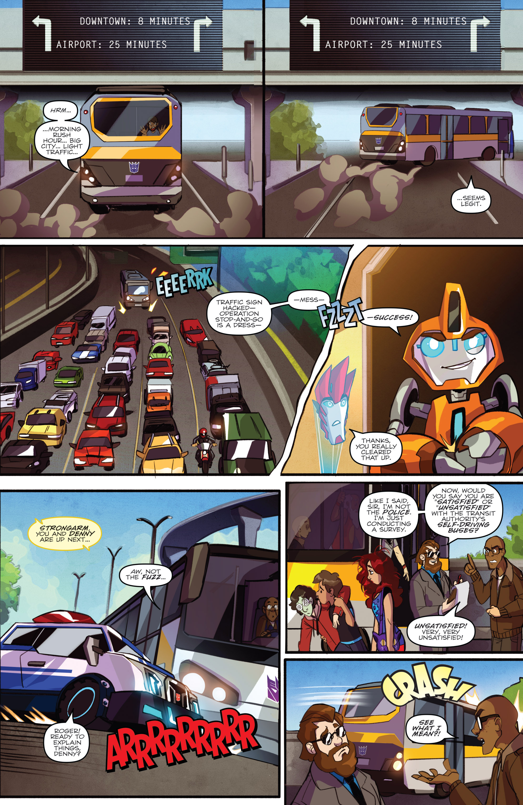 Read online Transformers: Robots In Disguise (2015) comic -  Issue #2 - 9