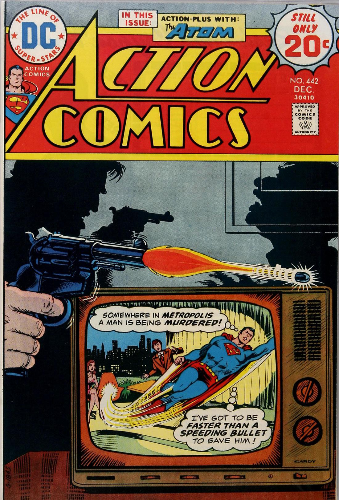 Action Comics (1938) 442 Page 0