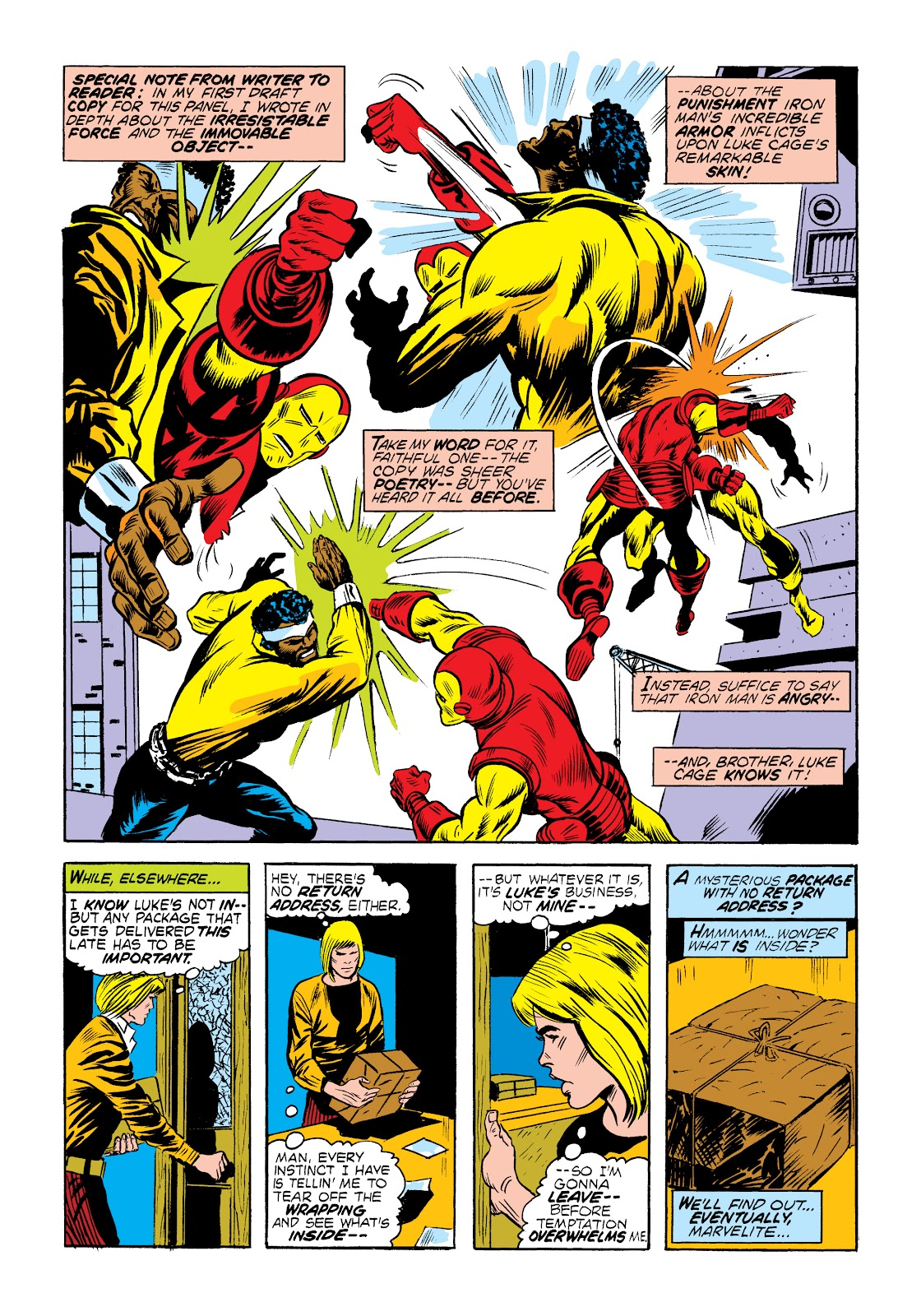 Read online Marvel Masterworks: Luke Cage, Power Man comic -  Issue # TPB 2 (Part 1) - 23