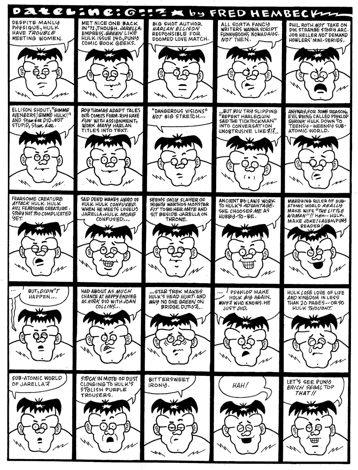 Read online The Nearly Complete Essential Hembeck Archives Omnibus comic -  Issue # TPB (Part 7) - 21