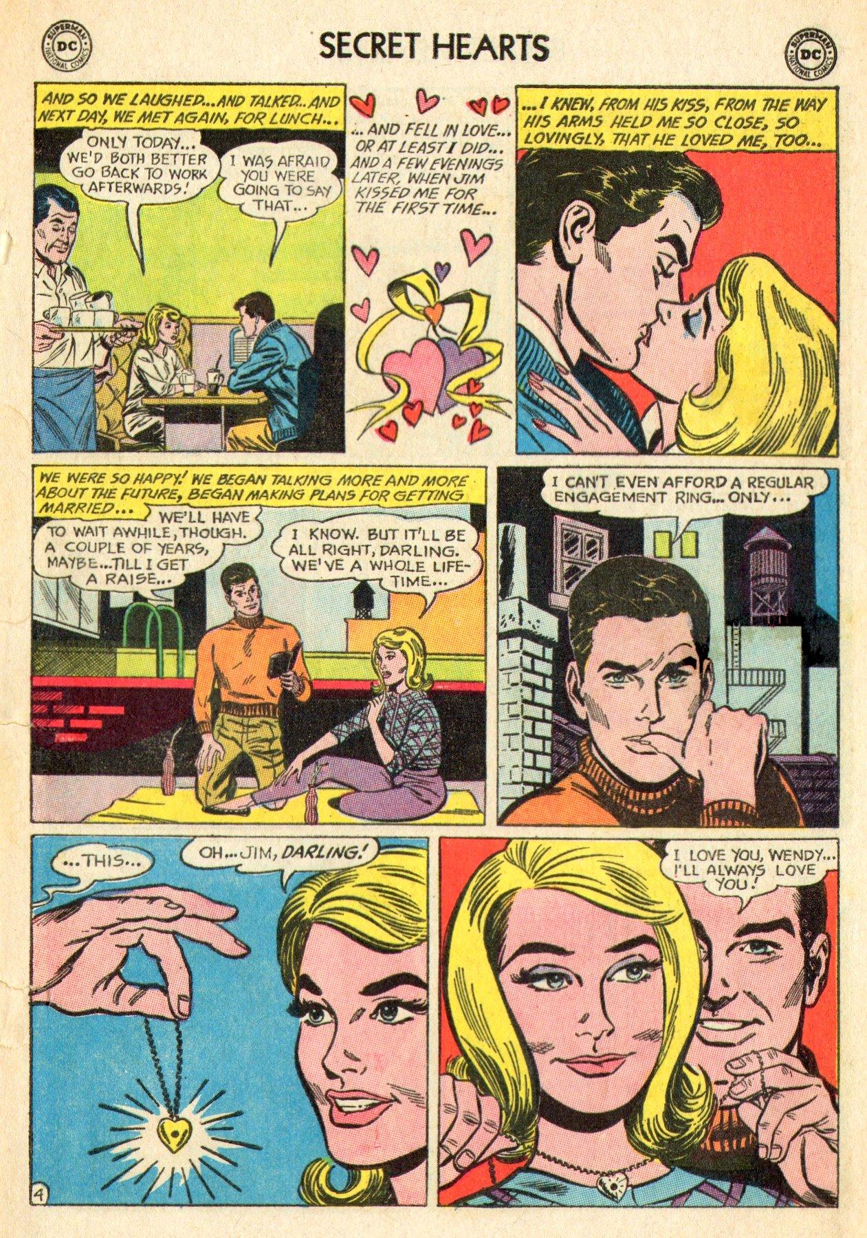 Read online Secret Hearts comic -  Issue #101 - 13