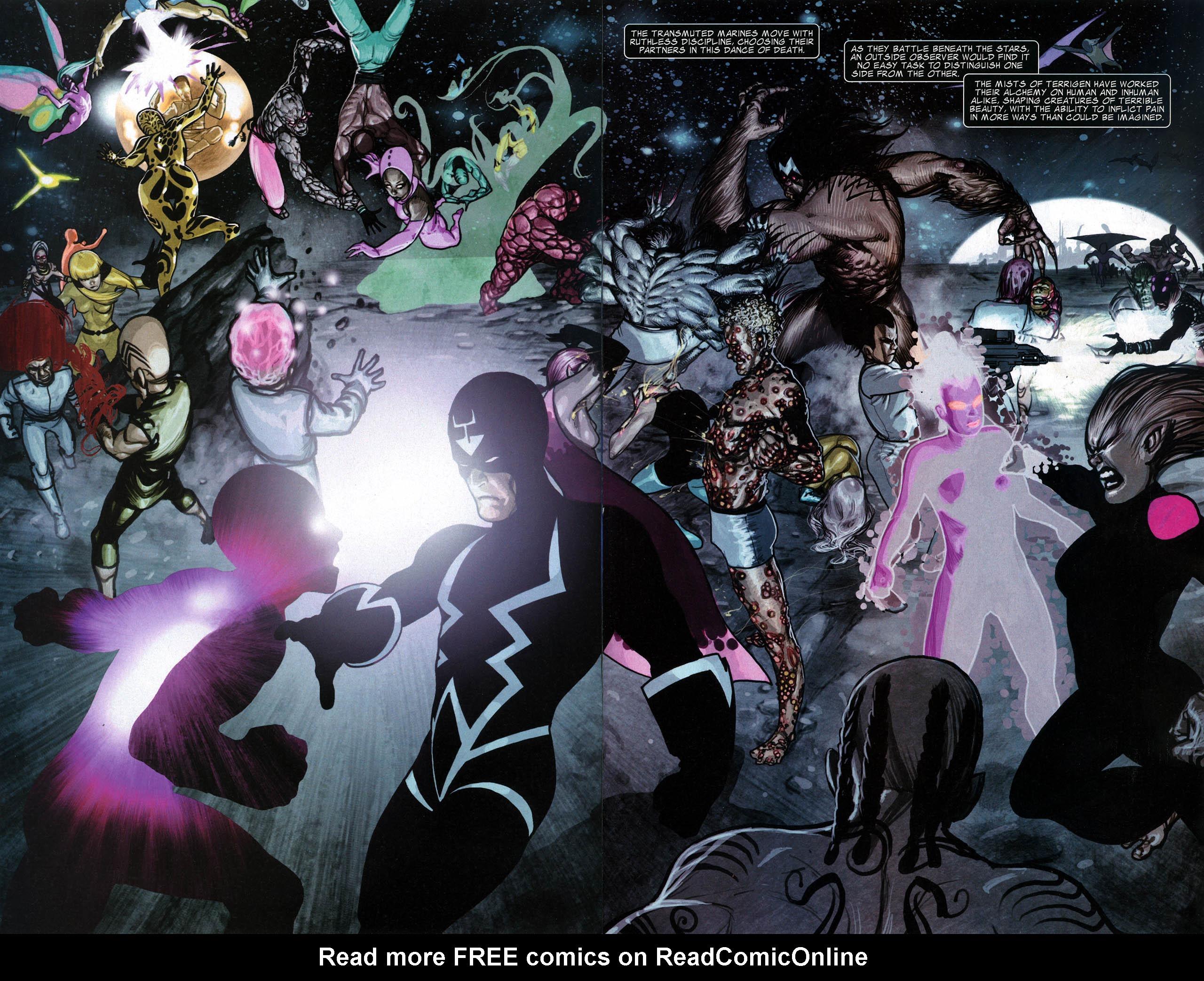 Read online Silent War comic -  Issue #6 - 7