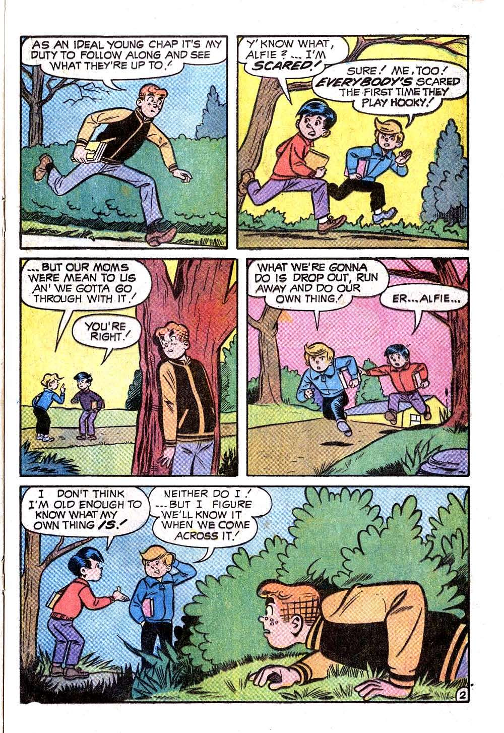 Read online Archie (1960) comic -  Issue #207 - 21