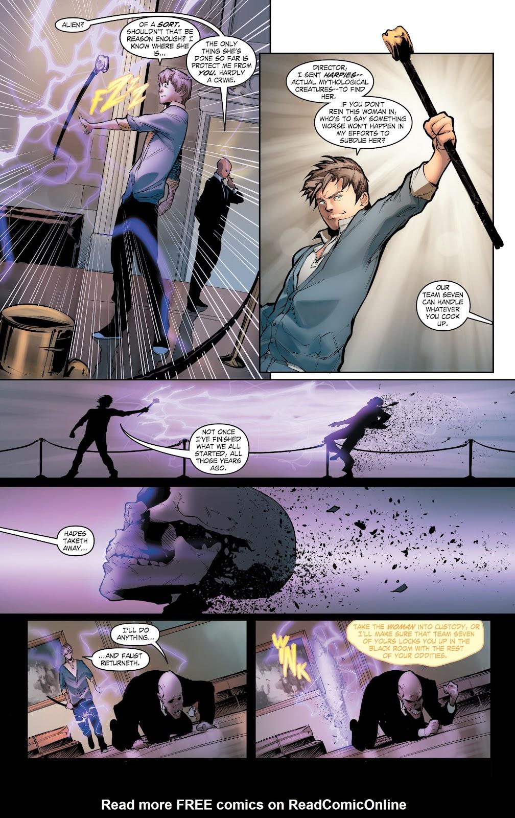 Read online Smallville Season 11 [II] comic -  Issue # TPB 5 - 54
