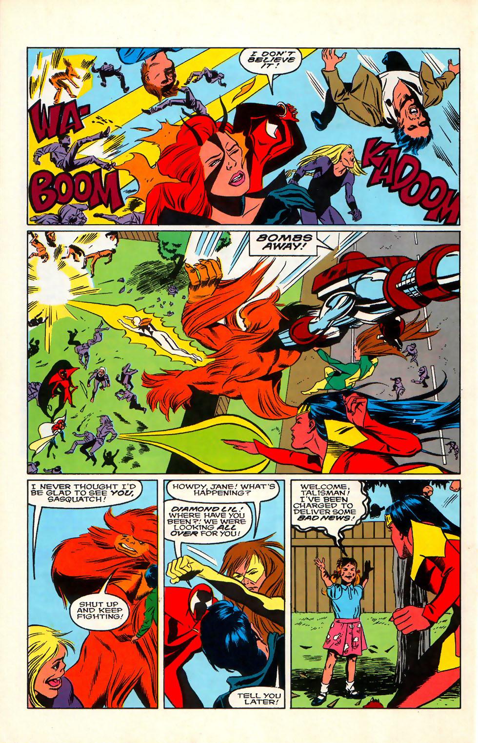 Read online Alpha Flight (1983) comic -  Issue #76 - 20