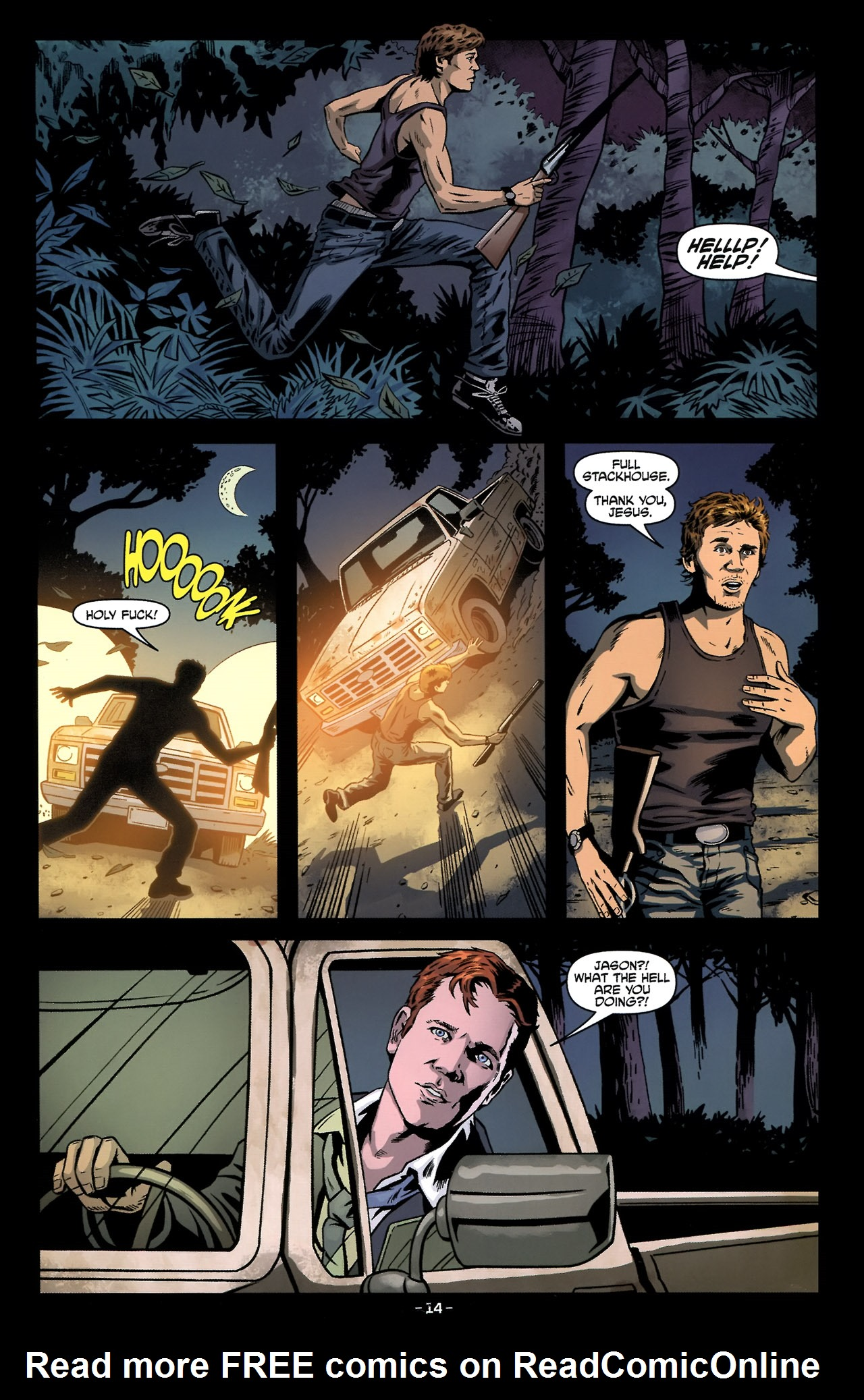 Read online True Blood: Tainted Love comic -  Issue #2 - 18
