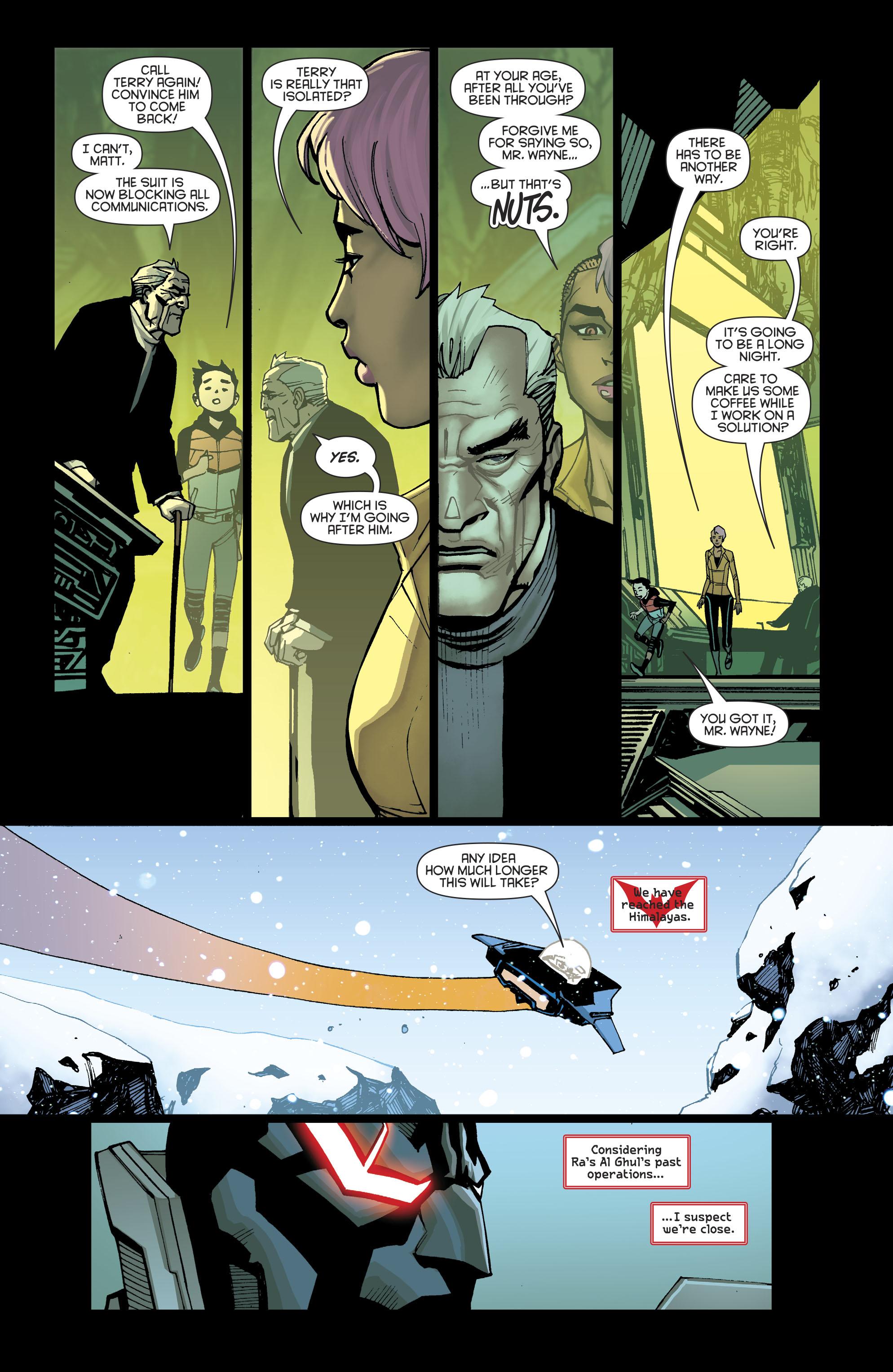 Read online Batman Beyond (2016) comic -  Issue #8 - 15