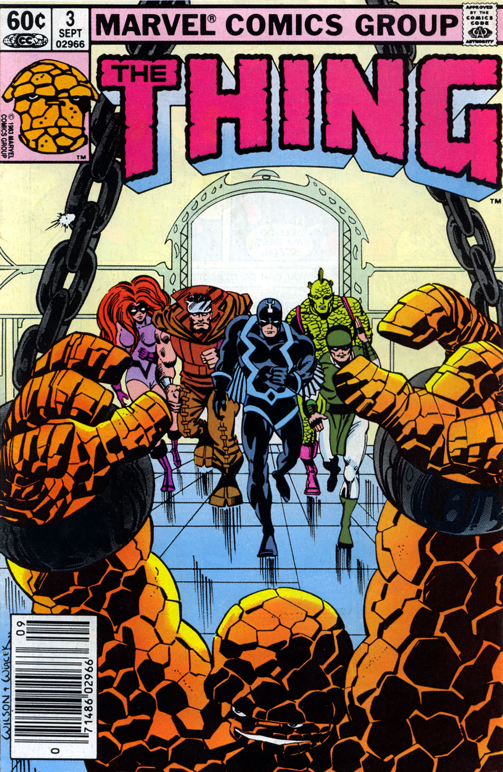 The Thing (1983) issue 3 - Page 1