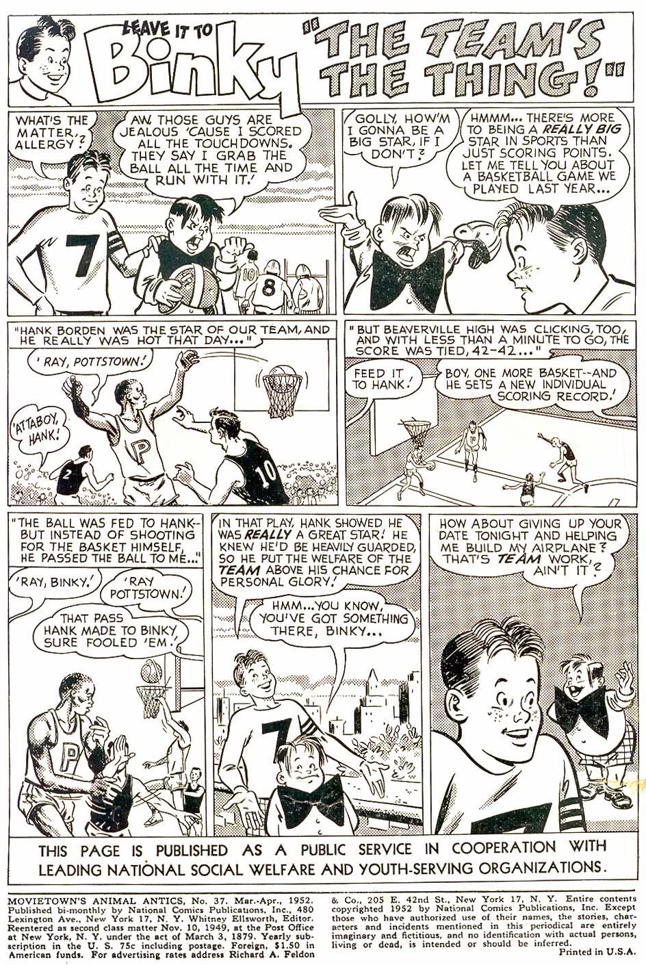 Read online Animal Antics comic -  Issue #37 - 2