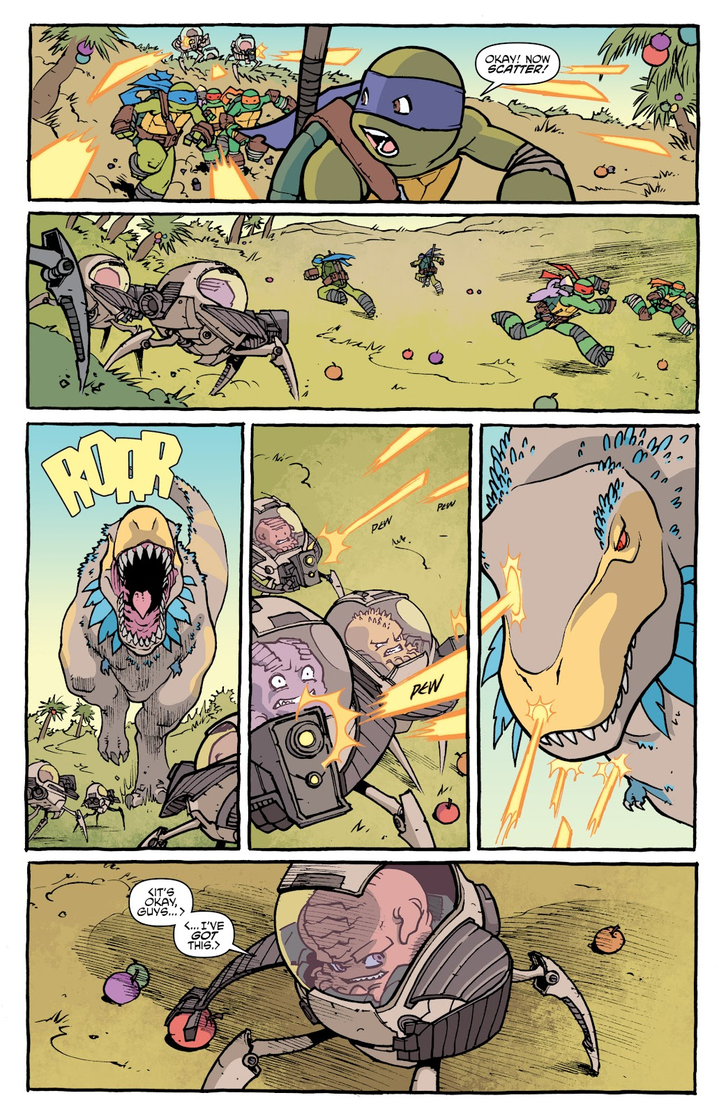 Read online Teenage Mutant Ninja Turtles: The IDW Collection comic -  Issue # TPB 5 (Part 1) - 26