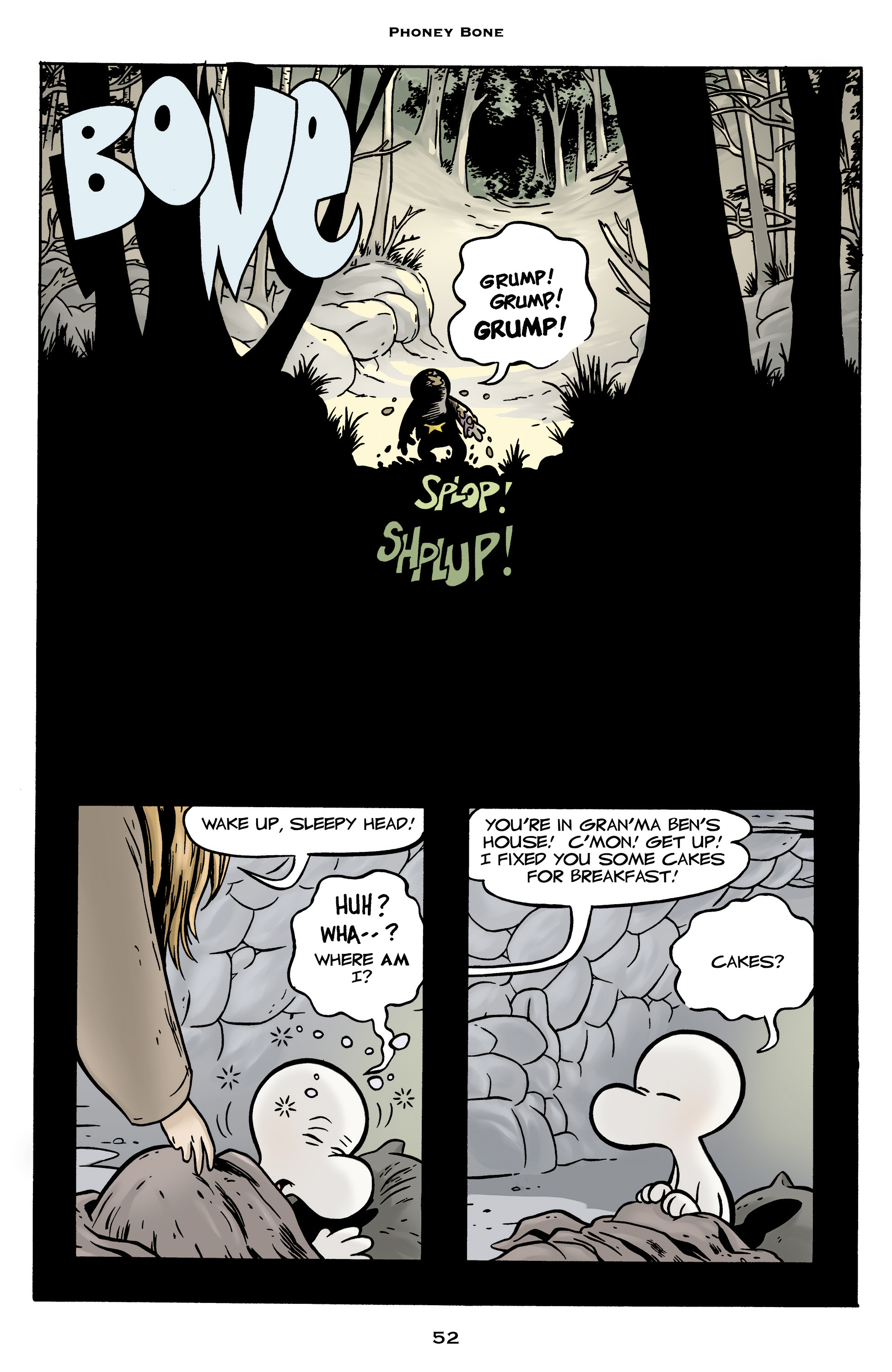 Read online Bone: Out From Boneville comic -  Issue # TPB - 52