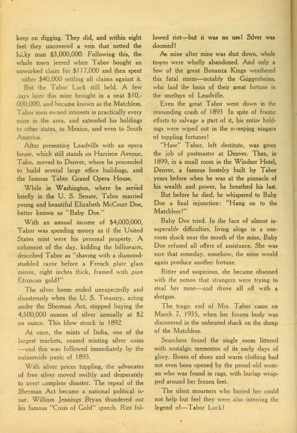 Read online All-Star Western (1951) comic -  Issue #65 - 26