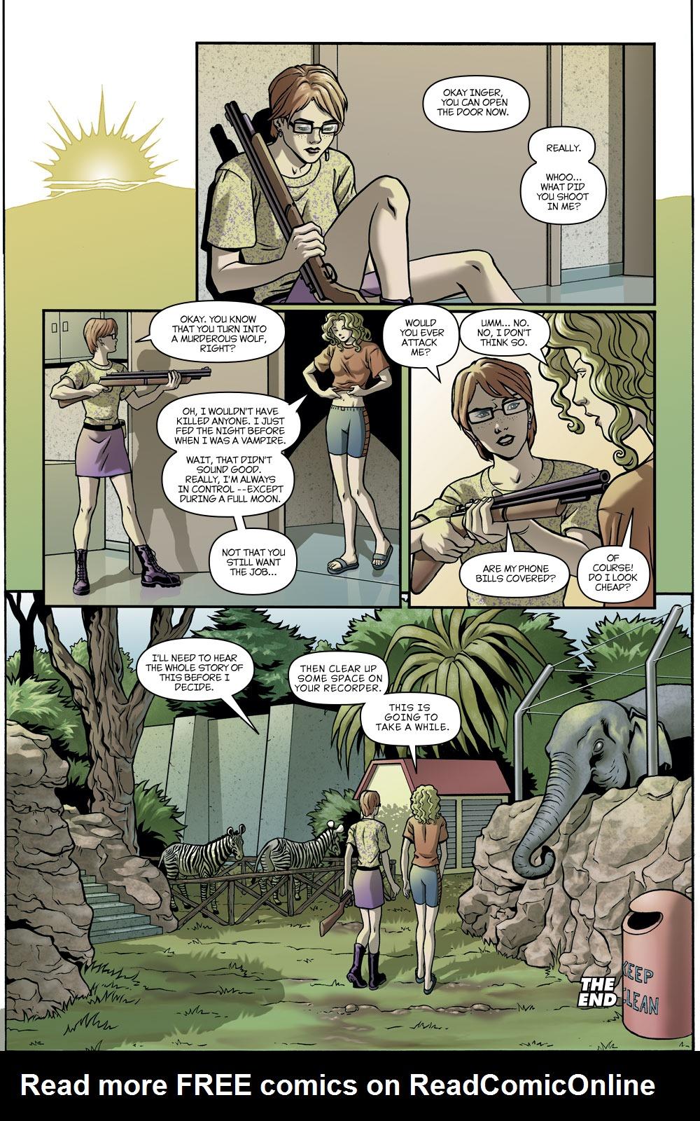 Read online Amazing Fantasy (2004) comic -  Issue #11 - 31