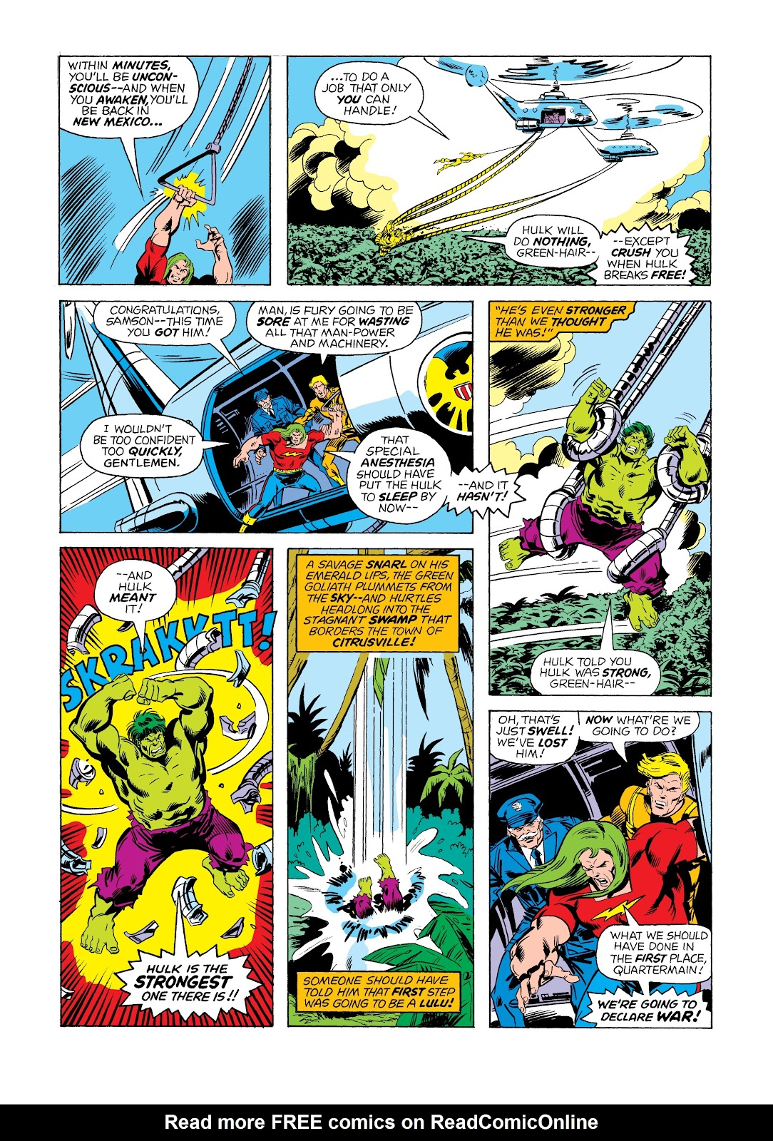 Read online Marvel Masterworks: The Incredible Hulk comic -  Issue # TPB 12 (Part 1) - 90
