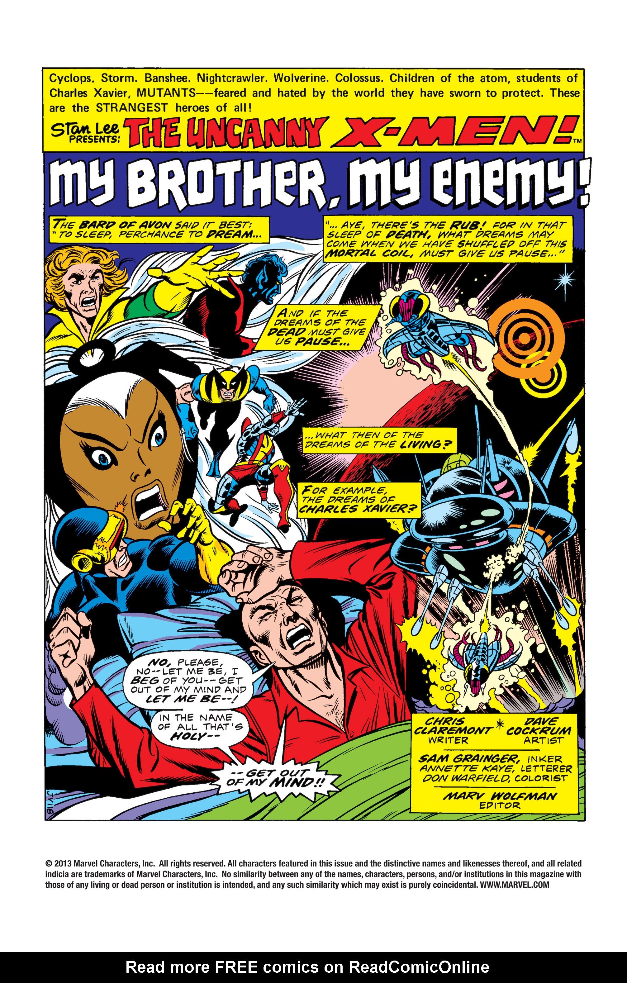 Uncanny X-Men (1963) 97 Page 1