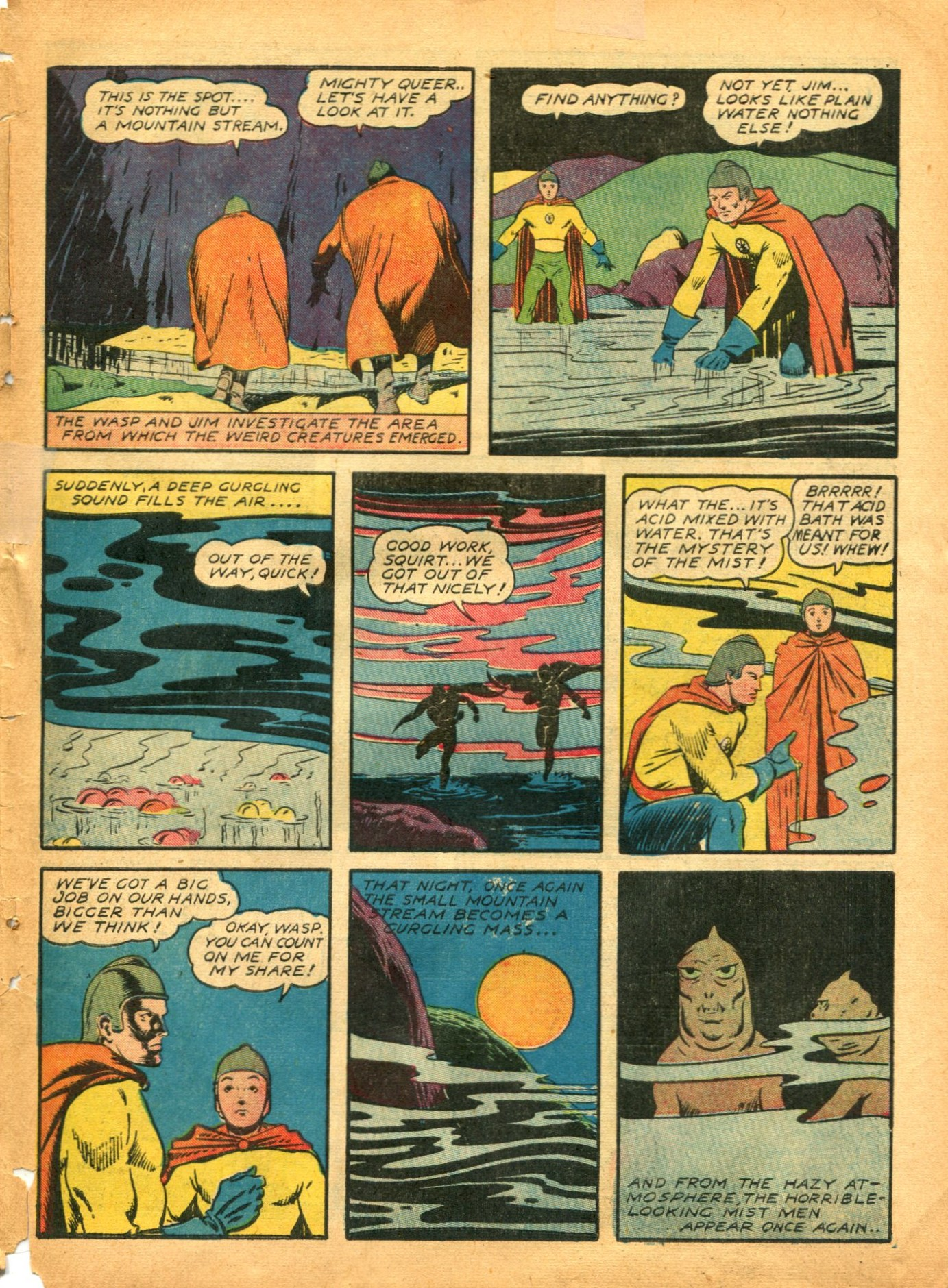 Read online Shadow Comics comic -  Issue #12 - 53