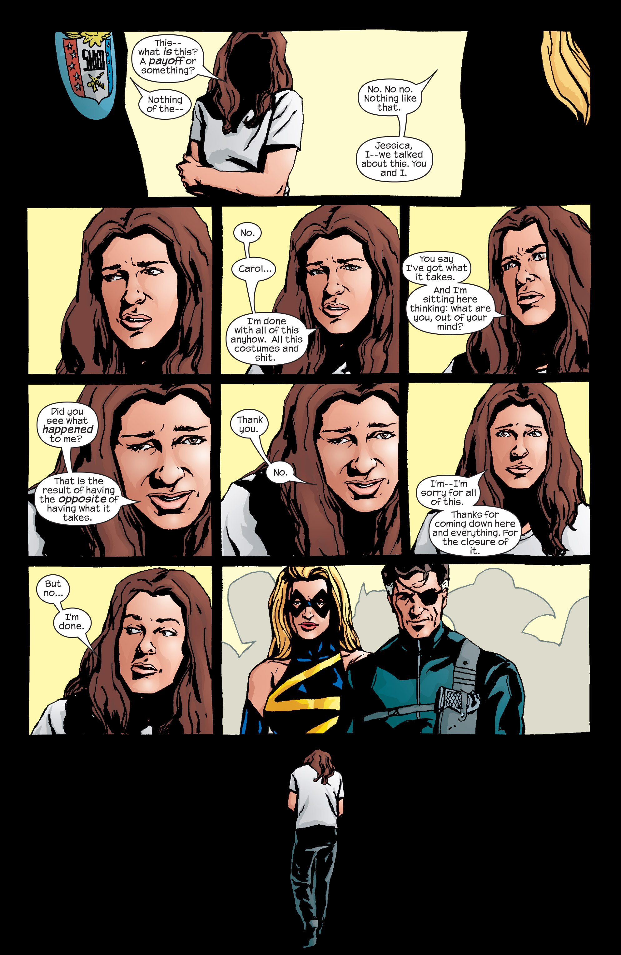 Read online Alias comic -  Issue #26 - 17