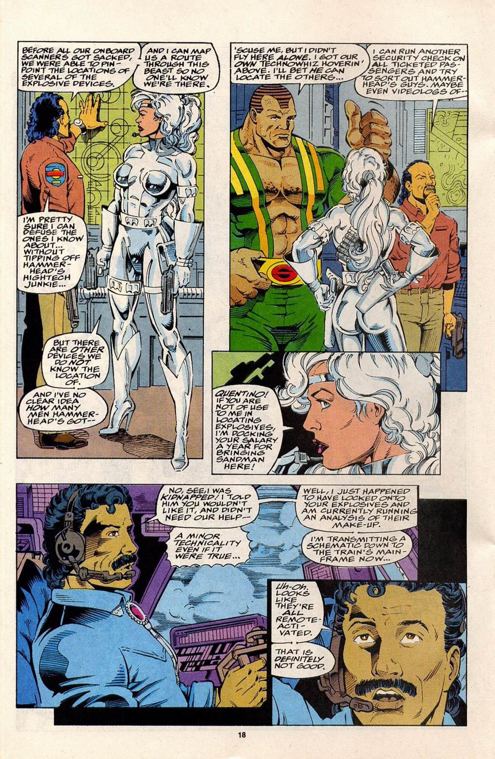 Read online Silver Sable and the Wild Pack comic -  Issue #32 - 14