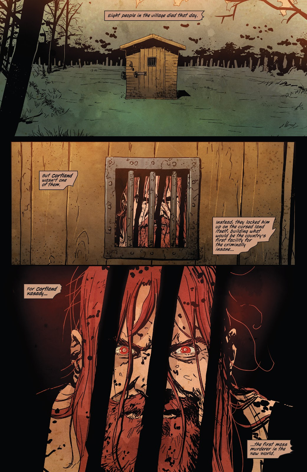Read online Ruins Of Ravencroft comic -  Issue # Carnage - 24
