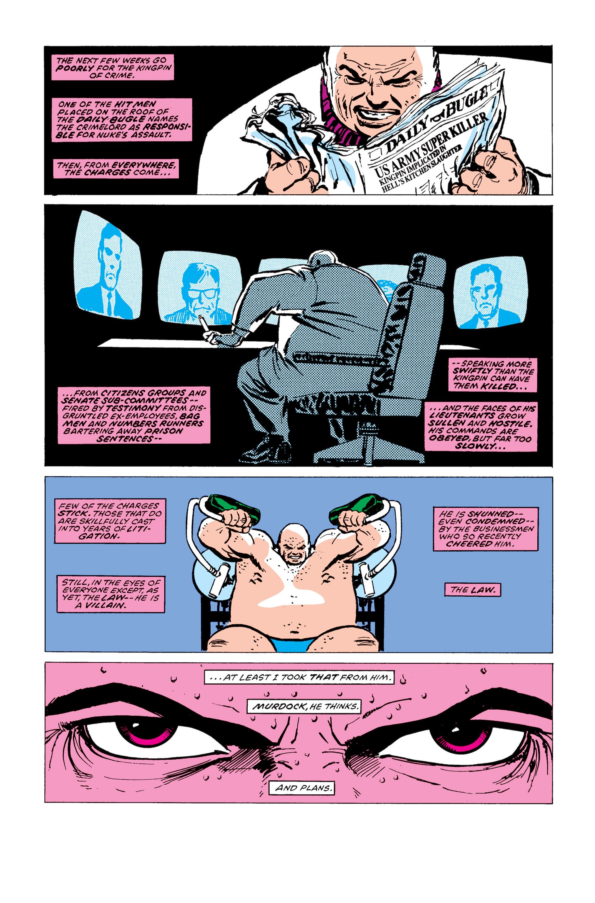 Read online Daredevil: Born Again comic -  Issue # Full - 198