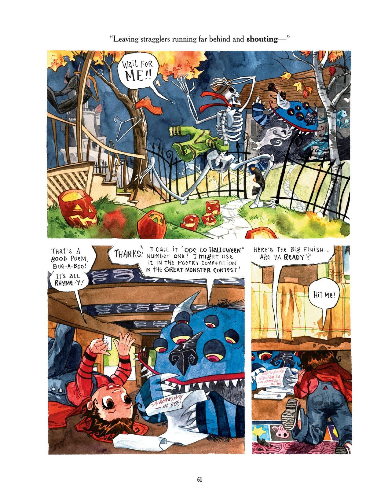 Read online Scary Godmother comic -  Issue # TPB - 61