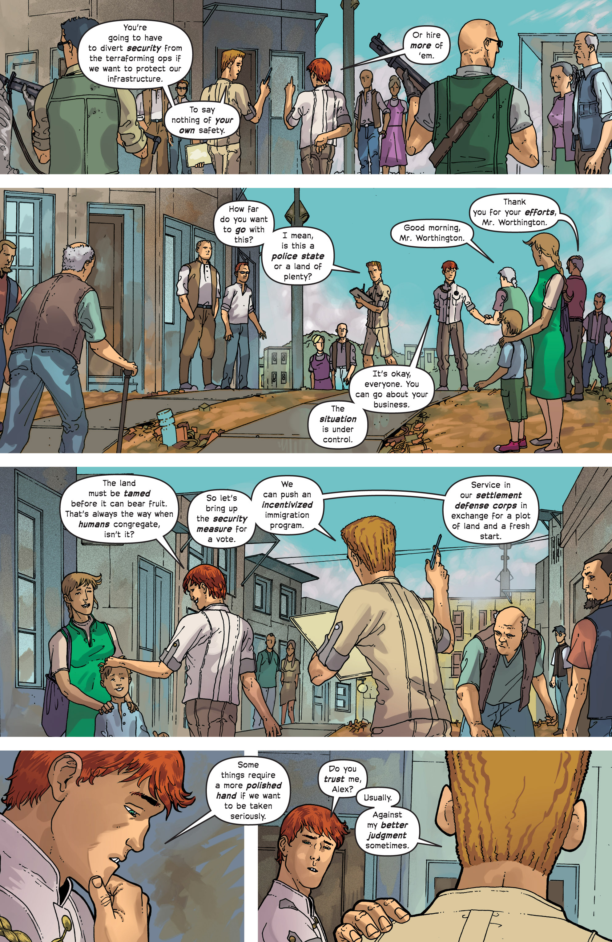Read online Great Pacific comic -  Issue #7 - 13