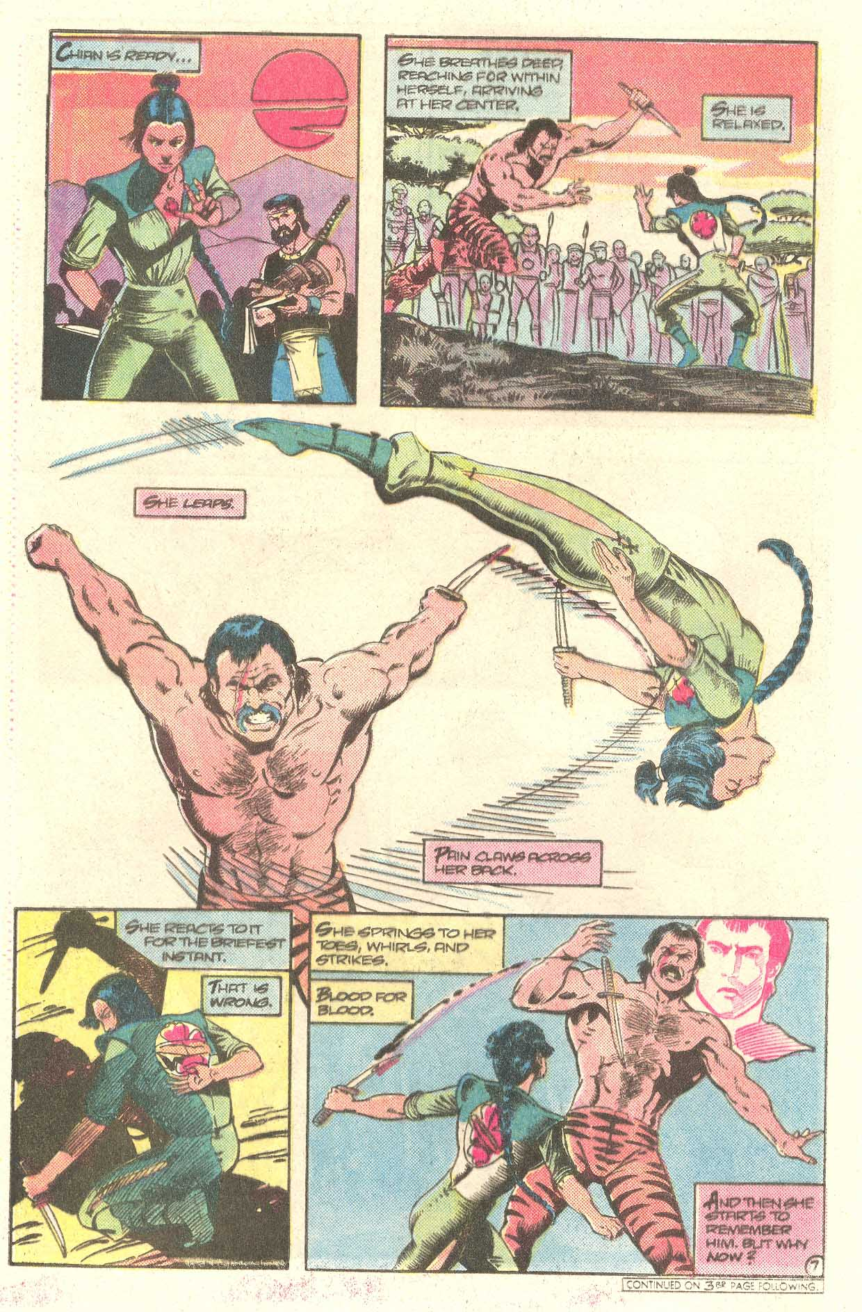 Read online Arion, Lord of Atlantis comic -  Issue #28 - 22