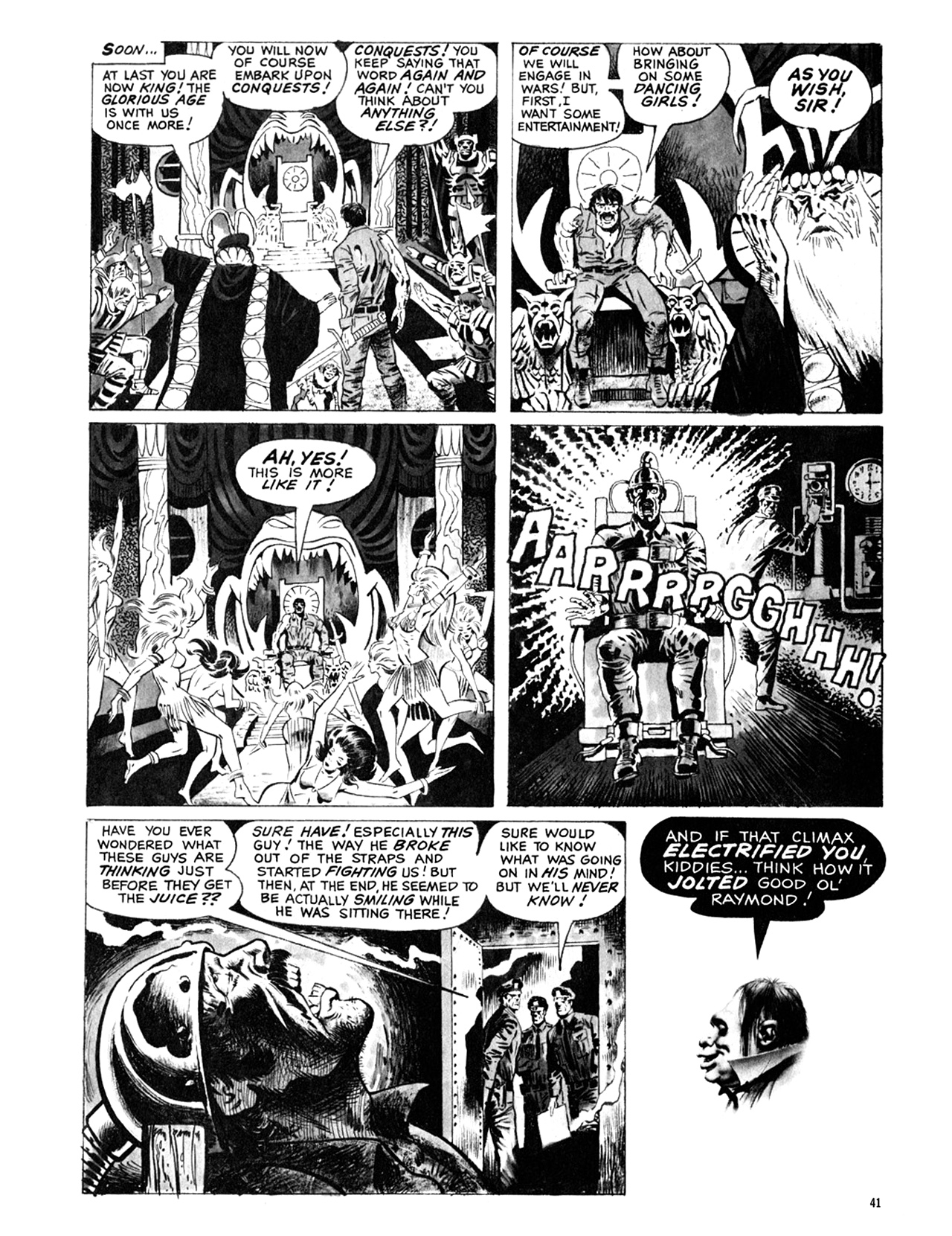Read online Eerie Archives comic -  Issue # TPB 9 - 42